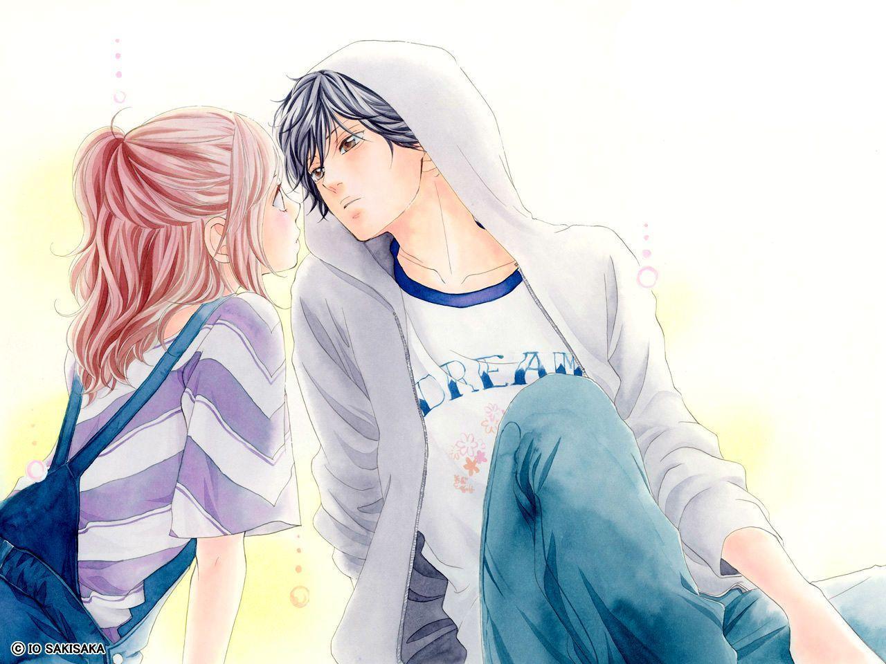 Cute Anime Couple Hd Wallpaper Impremedia Net