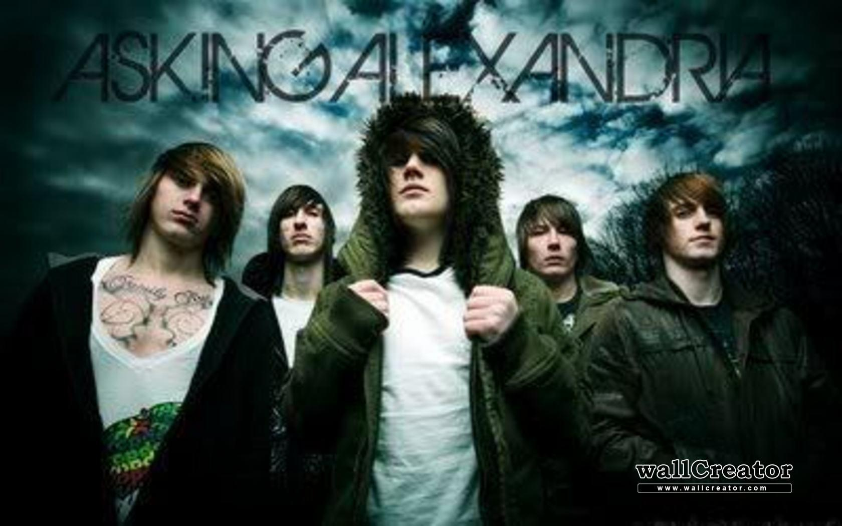 Asking alexandria wallpapers hd wallpaper cave asking alexandria 28 good pc background images collection voltagebd Choice Image
