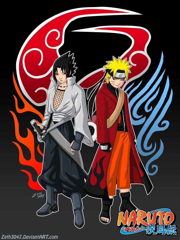 Wallpapers Naruto Dan Sasuke Wallpaper Cave