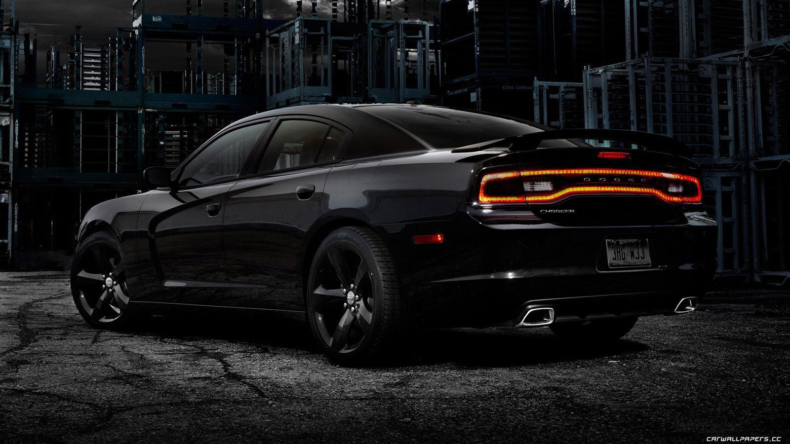 black dodge charger wallpapers