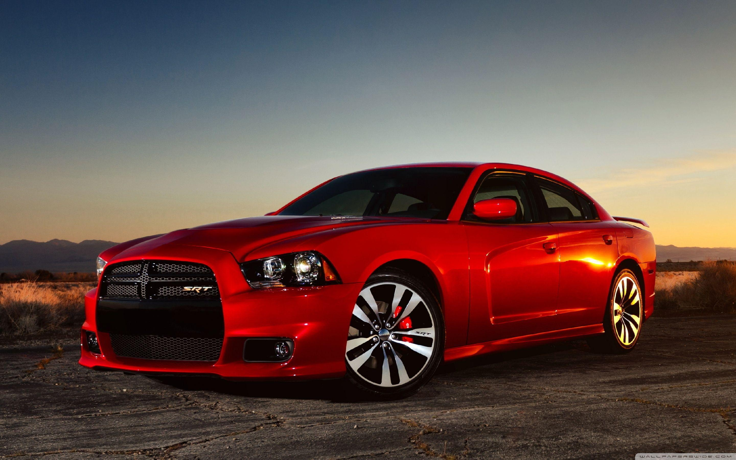 Red Dodge Charger SRT8 ❤ 4K HD Desktop Wallpapers for 4K Ultra HD TV