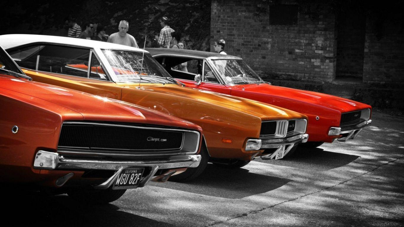 Download Wallpapers Dodge Charger RT SE, '1969, Dodge Charger, '1968