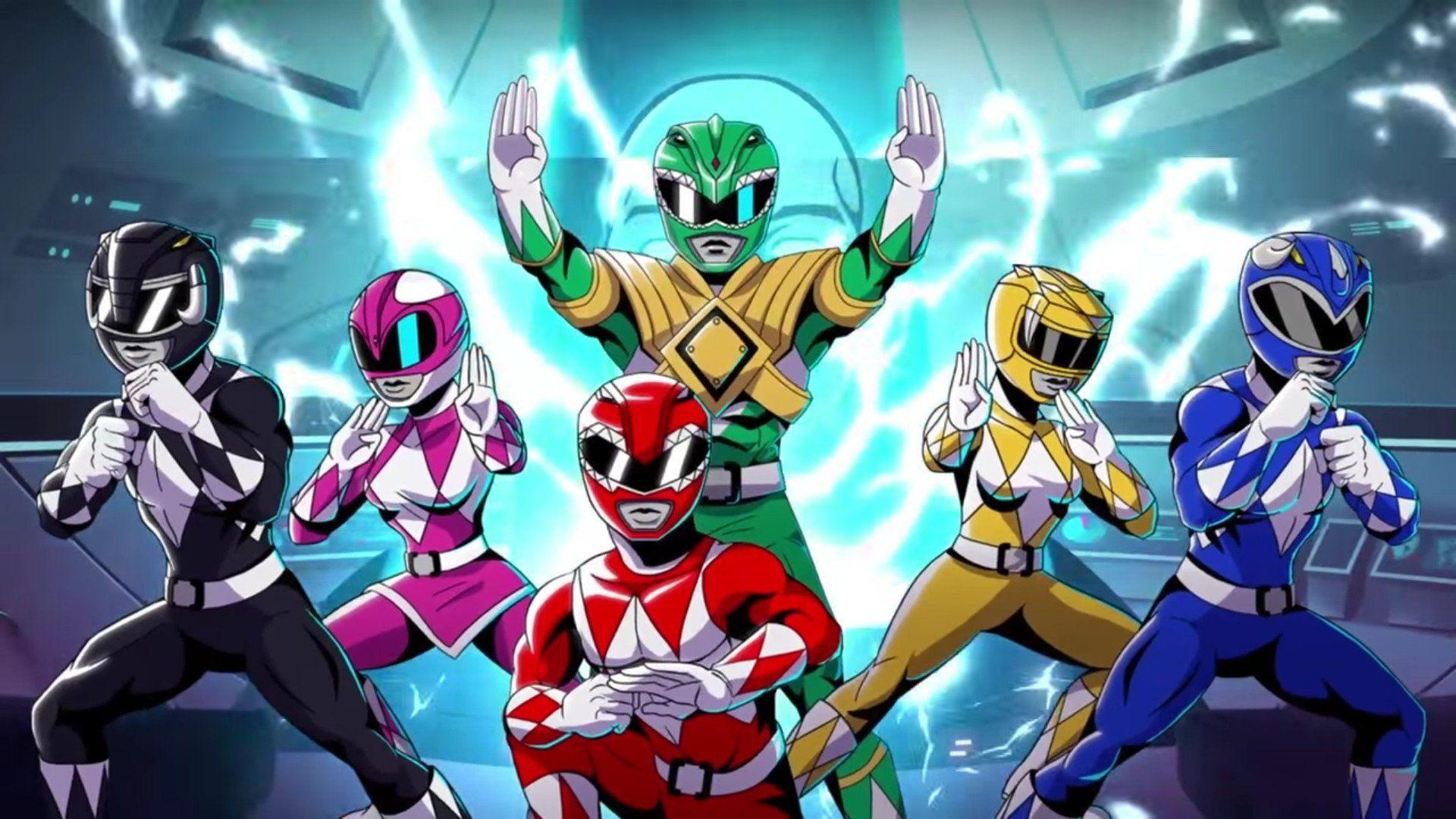 Mighty Morphin Power Ranger Wallpapers Wallpaper Cave