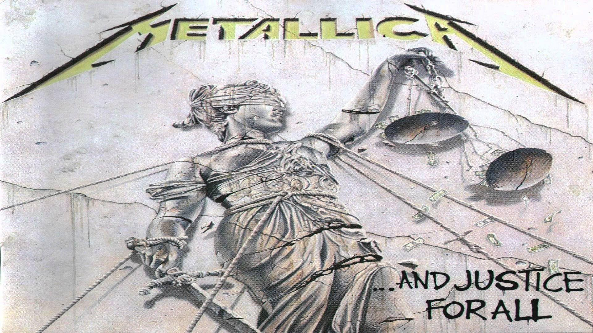 Metallica And Justice For All Full Album With Audible Bass Added