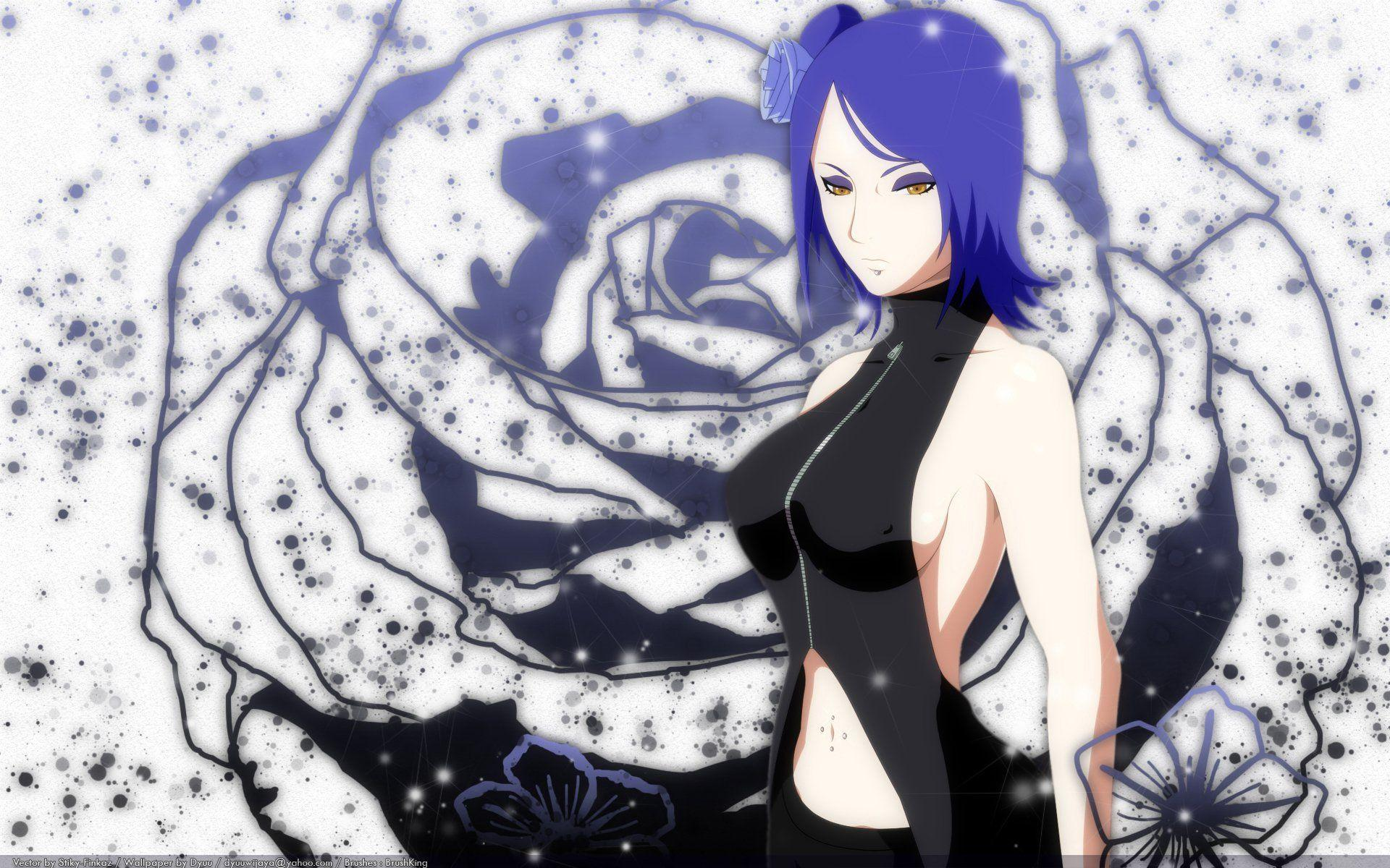 Naruto Konan Wallpapers Wallpaper Cave