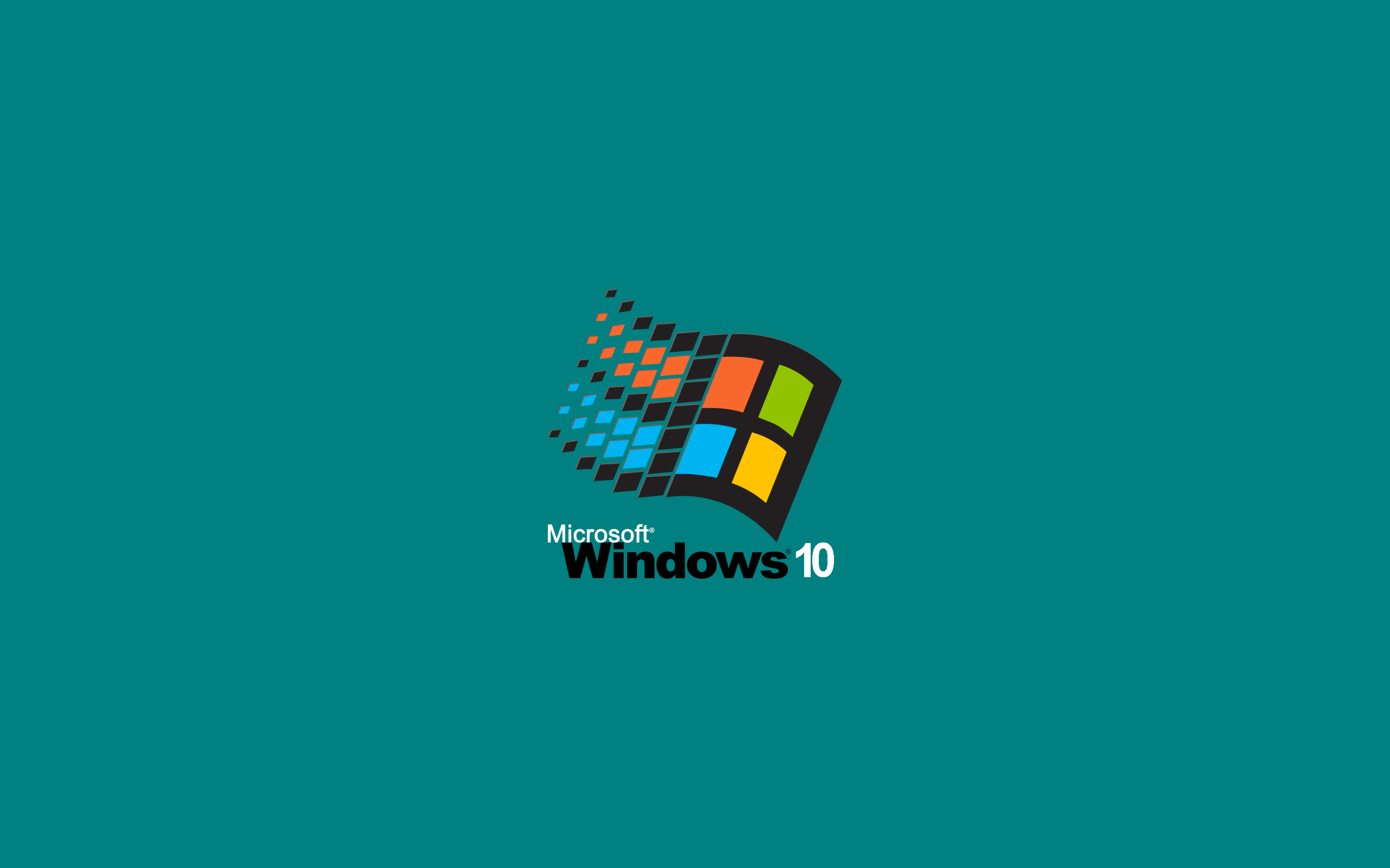Windows 95 style Windows 10 wallpapers