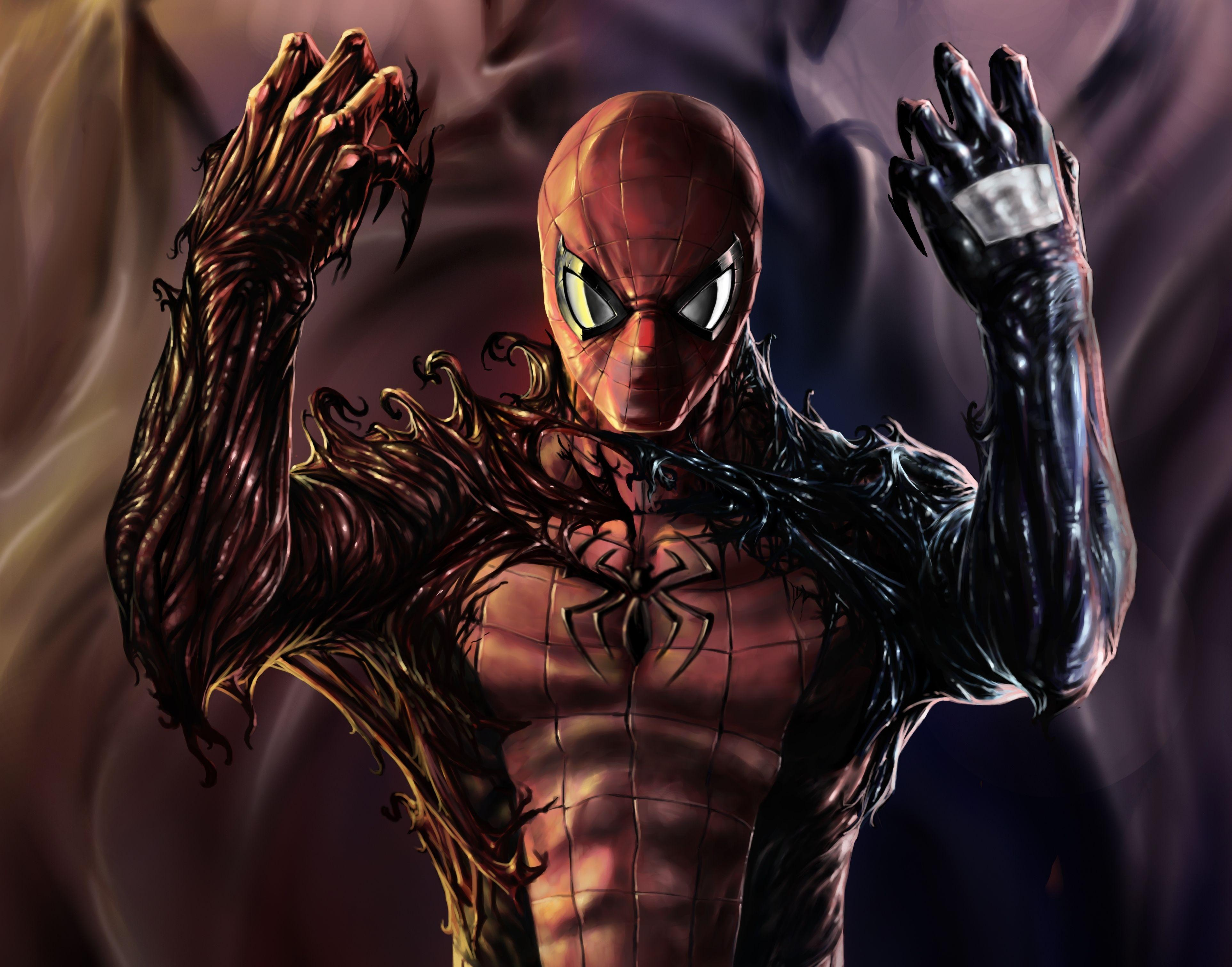 Spider Man Vs Venom Wallpapers Hd Wallpaper Cave