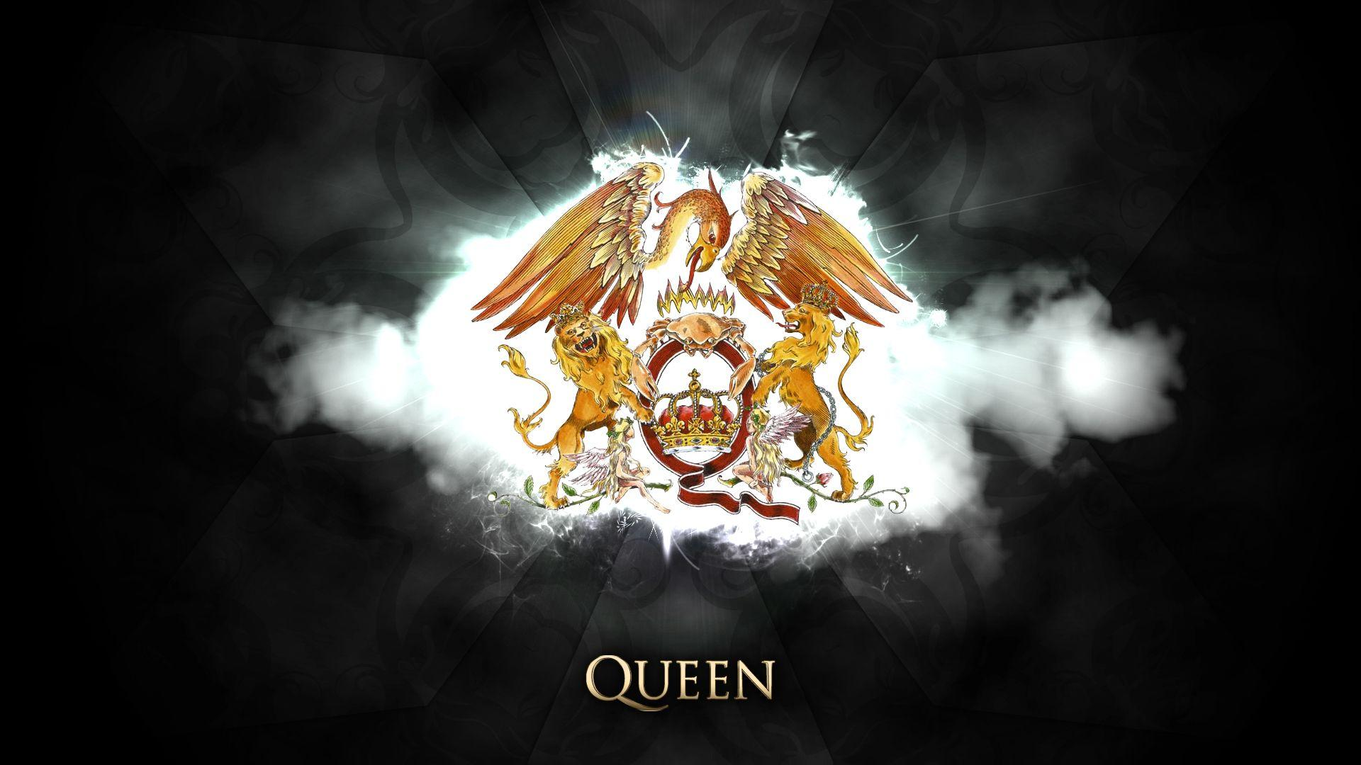Queen Logo Wallpapers Wallpaper Cave
