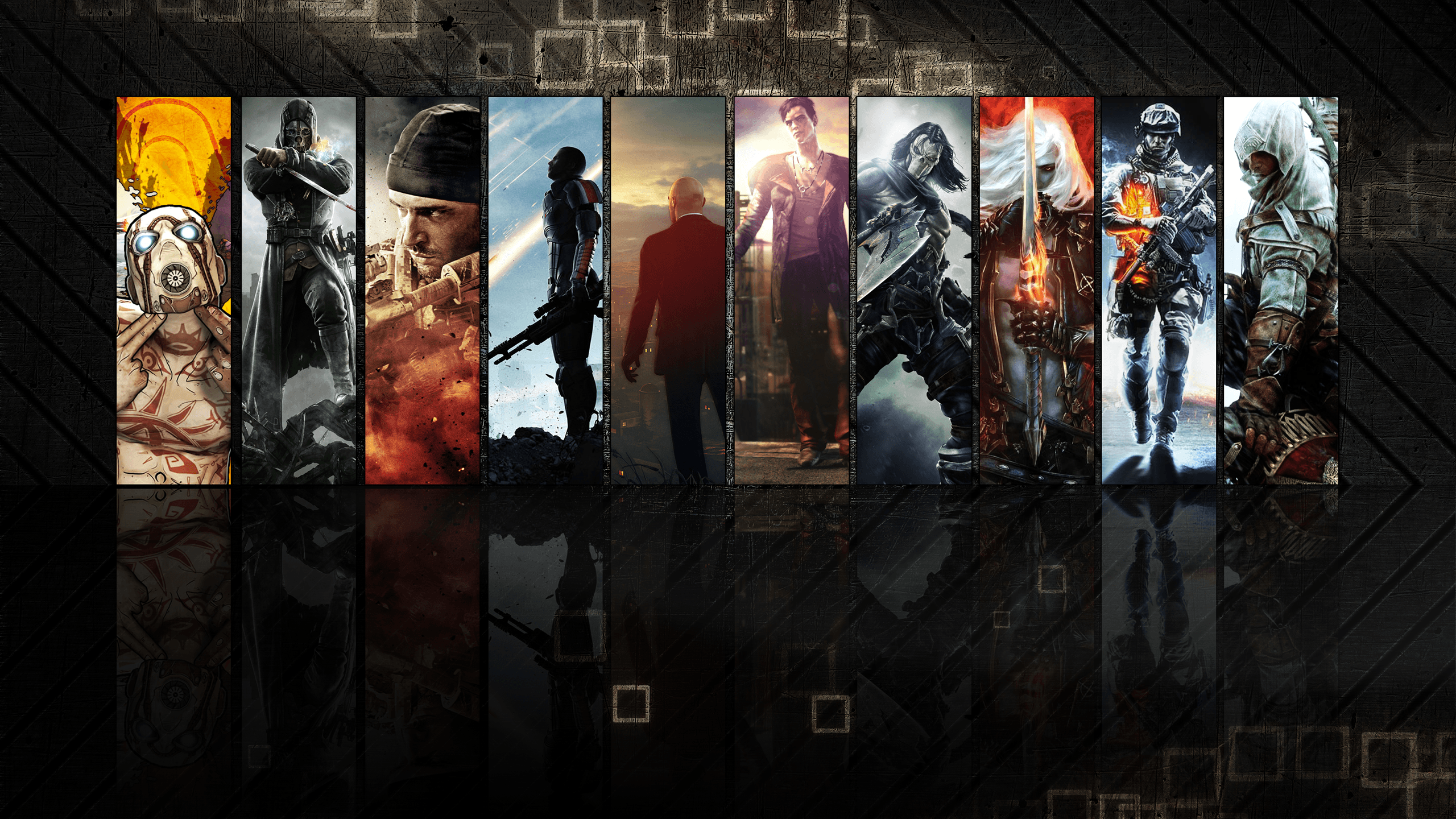 Gaming Backgrounds 2560x1440