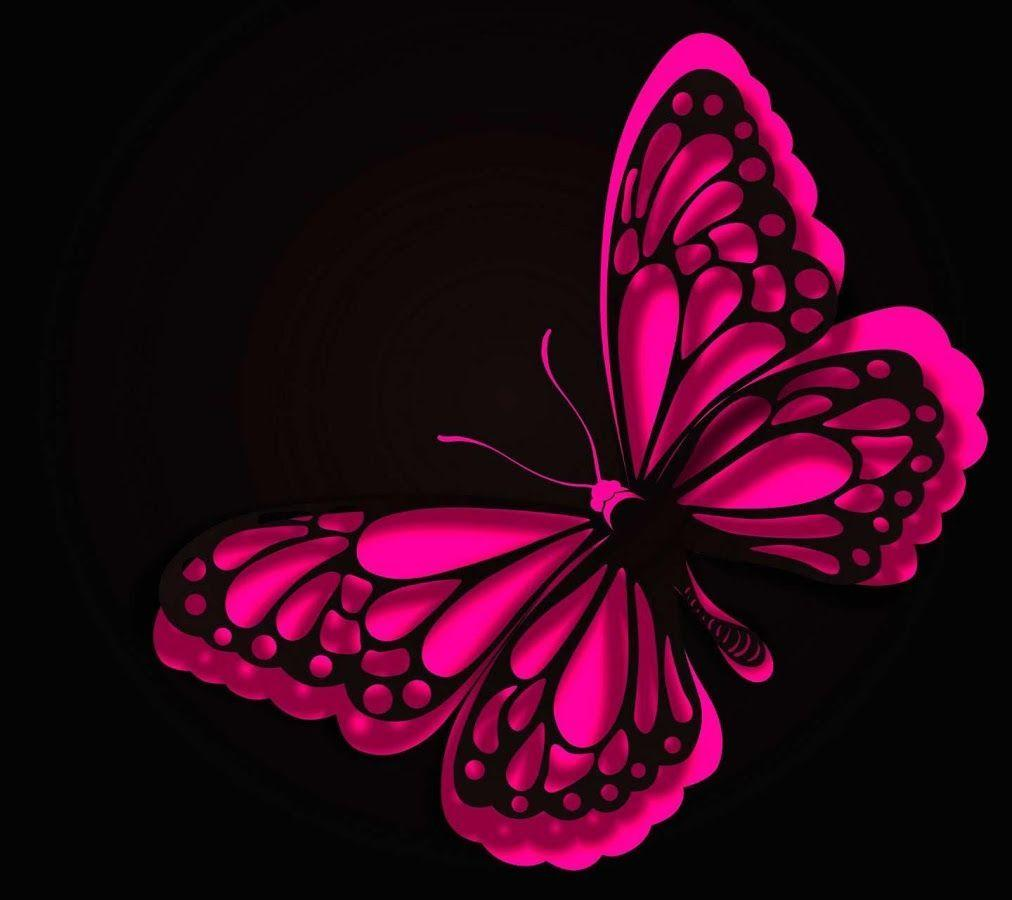 Black And Pink Butterflies Wallpapers - Wallpaper Cave