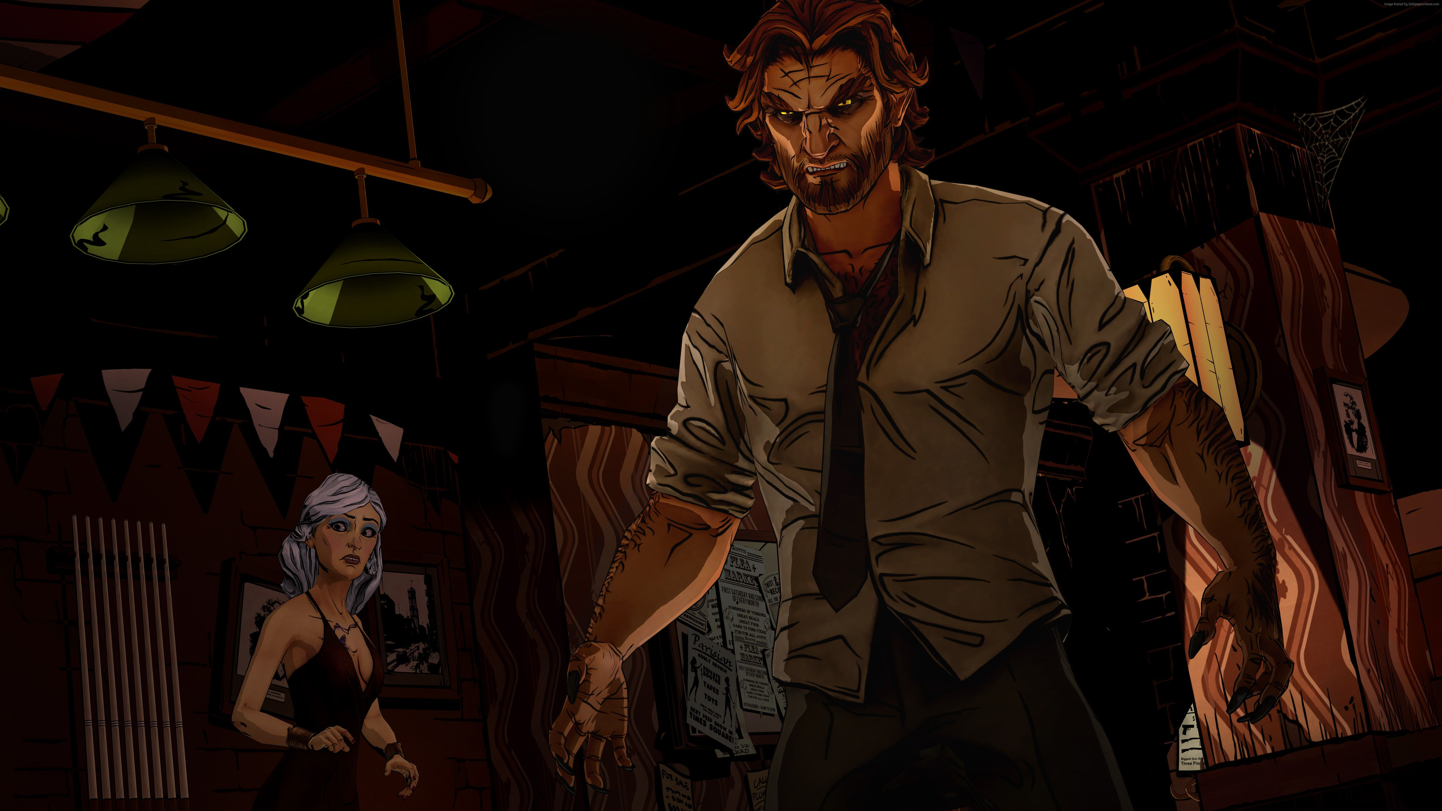 Wallpapers The Wolf Among Us, game, Adventure games, Fables, Bigby
