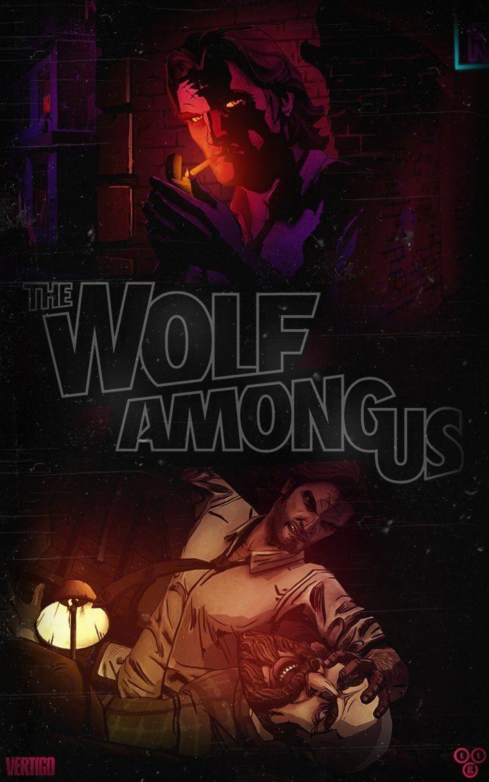 The Wolf Among Us // Noir Logo by DrunkenMoonkey