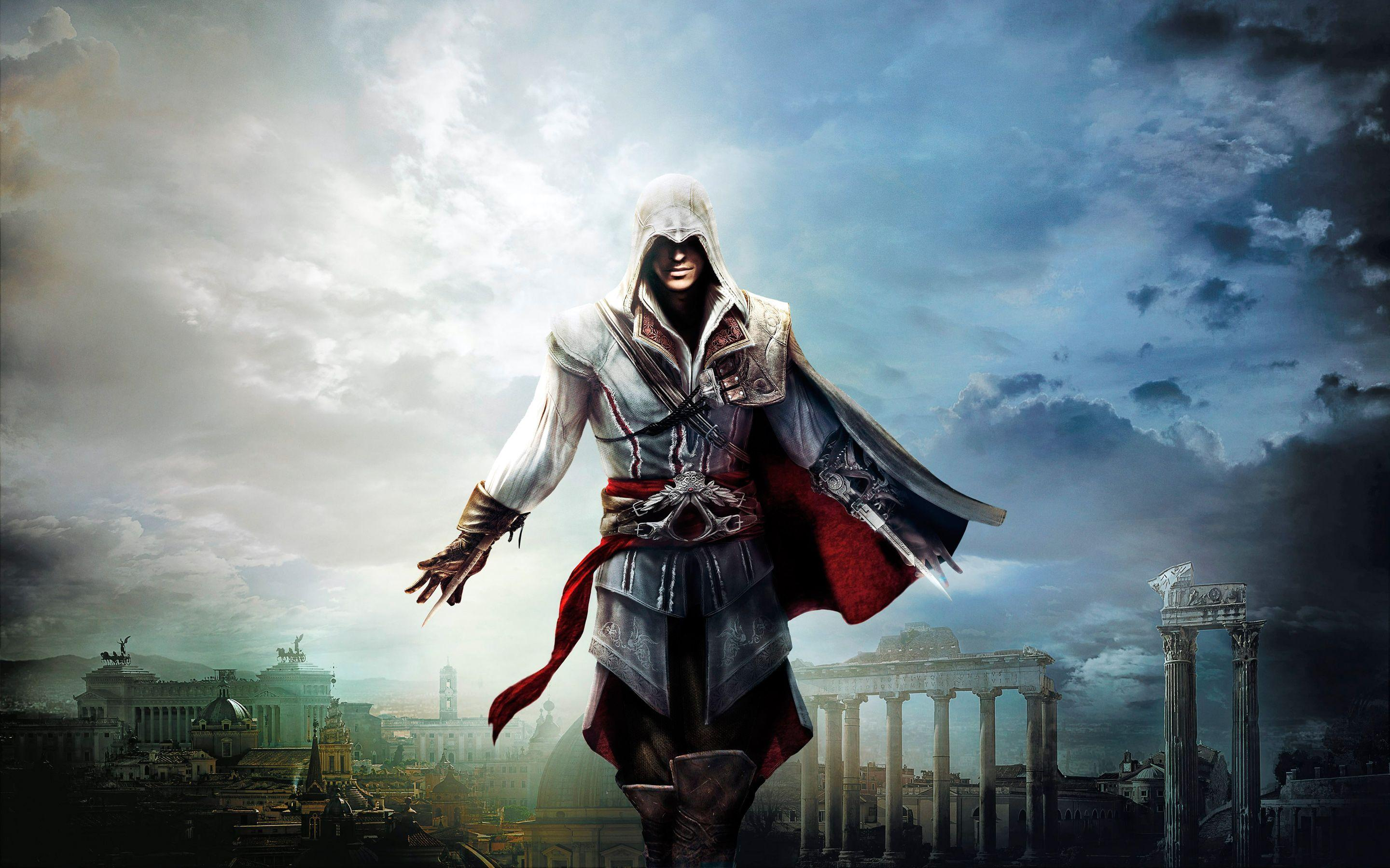 Assassins Creed Ezio Wallpapers Hd Wallpaper Cave