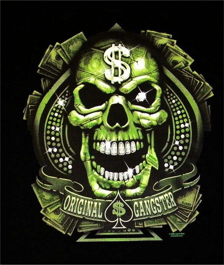 Gangster Skull Wallpapers Wallpaper Cave