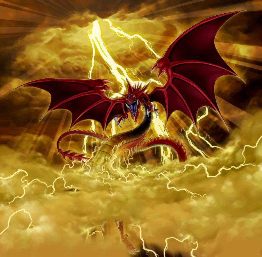 Yugioh Slifer The Sky Dragon Wallpapers Wallpaper Cave