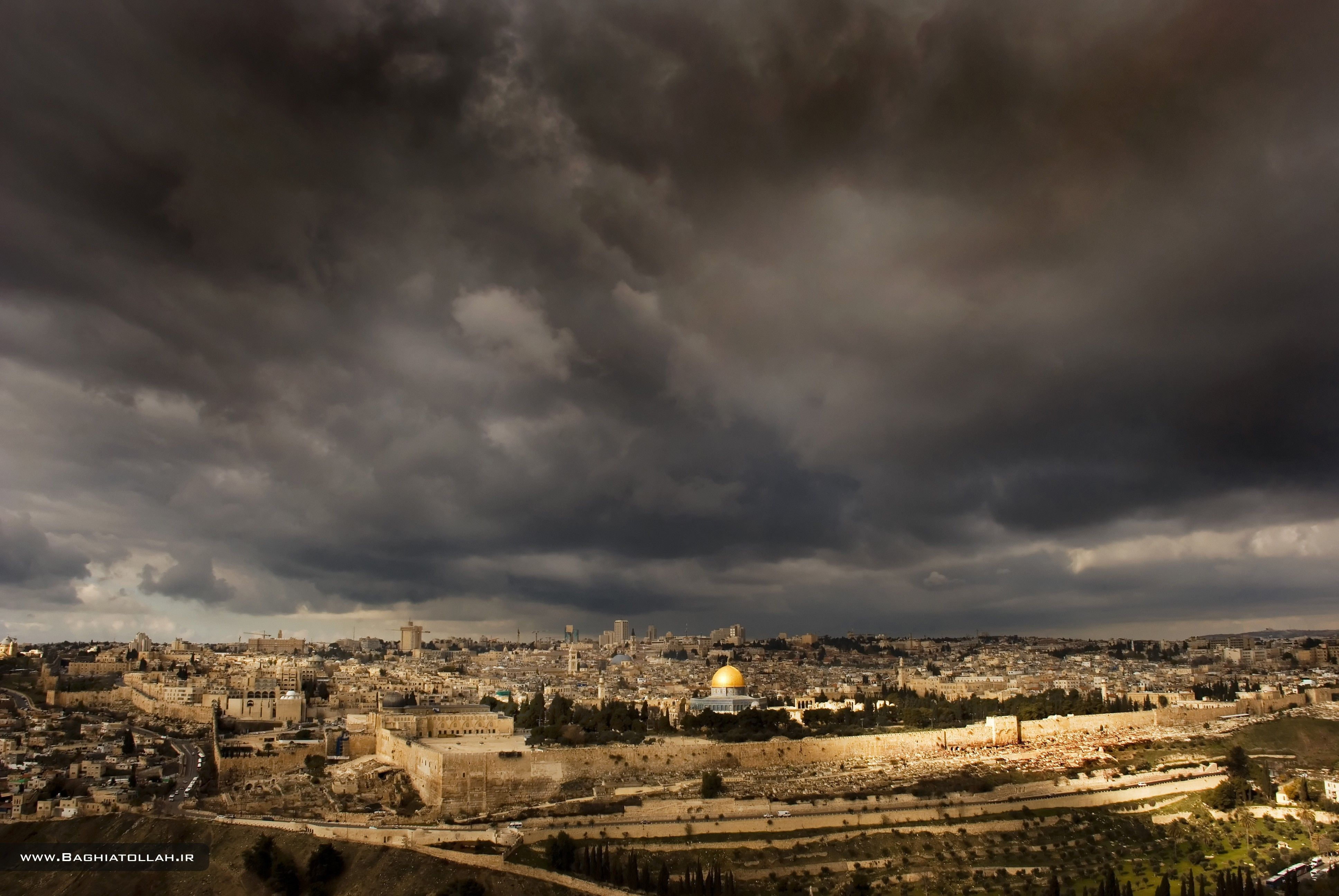 Download Wallpapers, Download 2560x1600 cityscapes israel jerusalem
