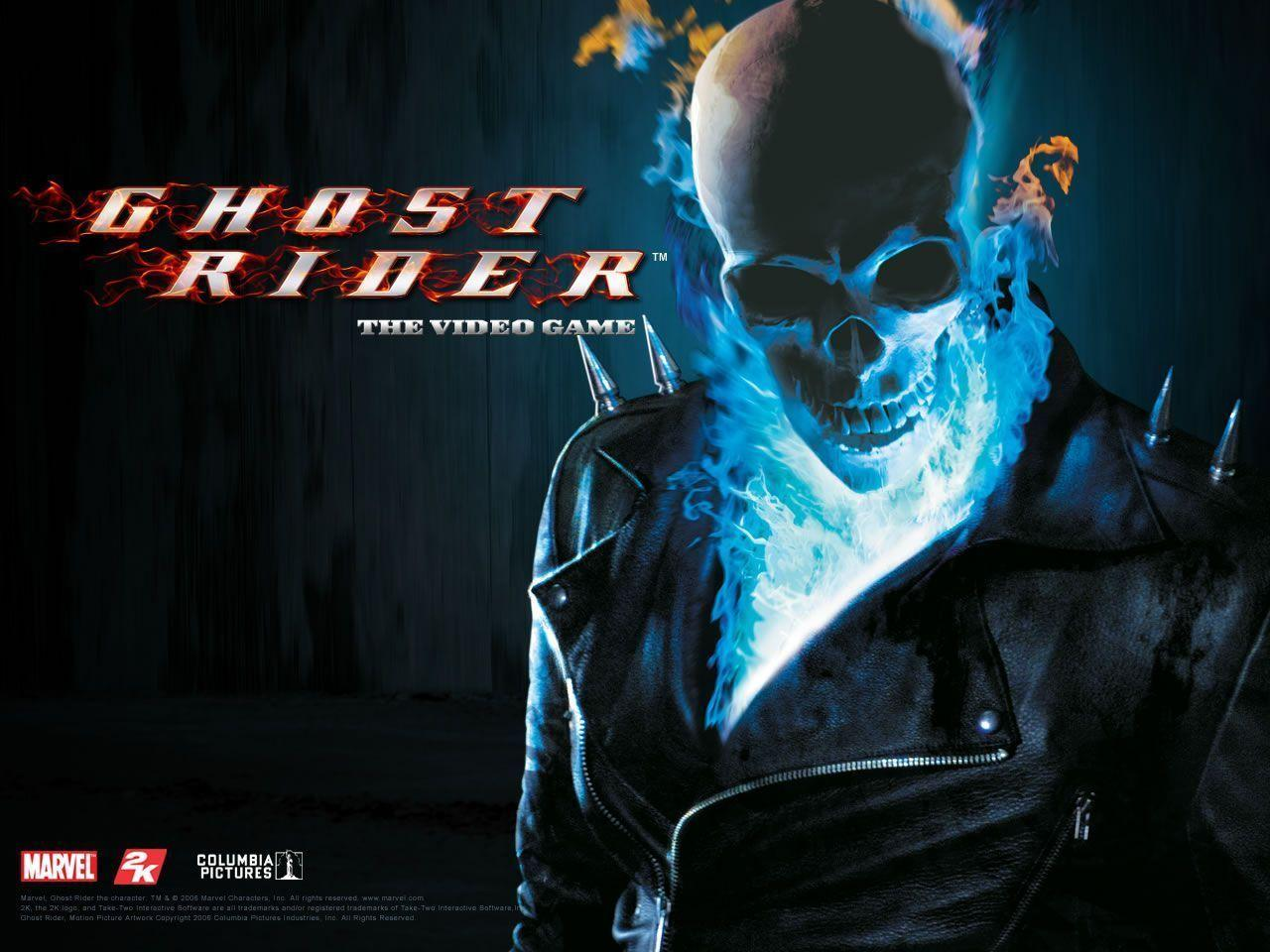 Ghost Rider 2 Blue Flame Wallpapers Wallpaper Cave