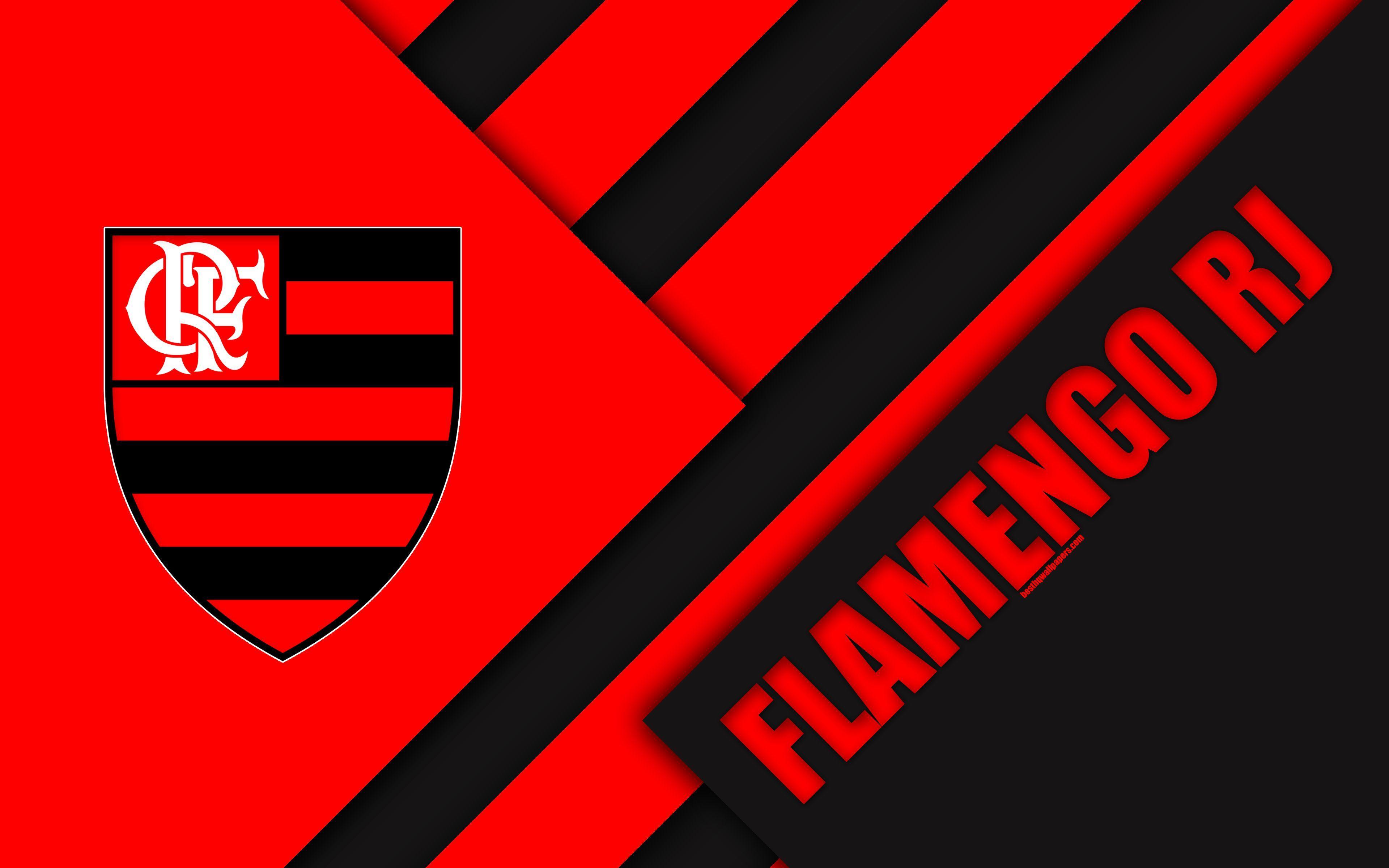 Download Wallpapers Flamengo RJ FC Rio De Janeiro Brazil 4k
