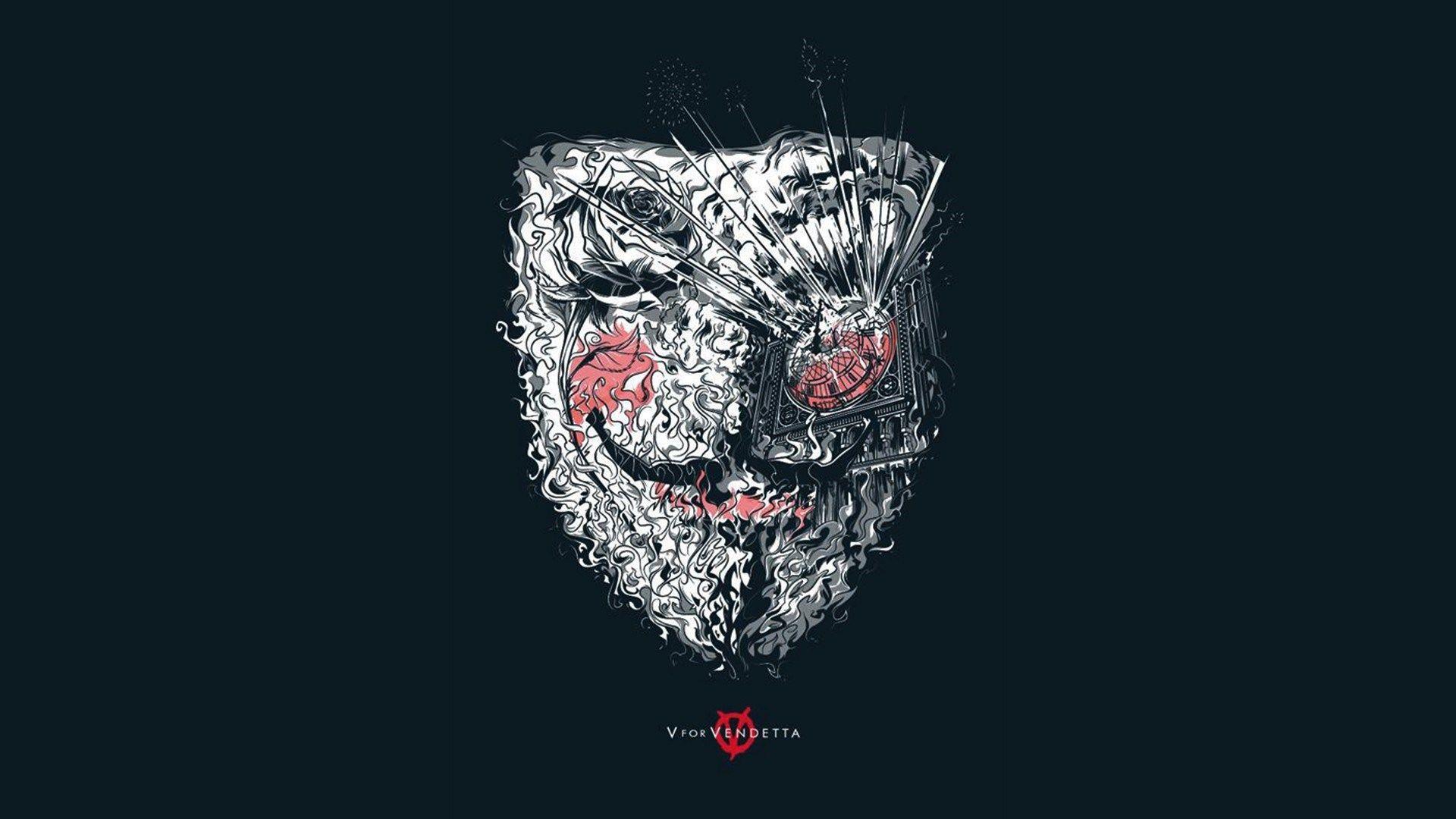 Vendetta Mask Wallpaper HD 22255