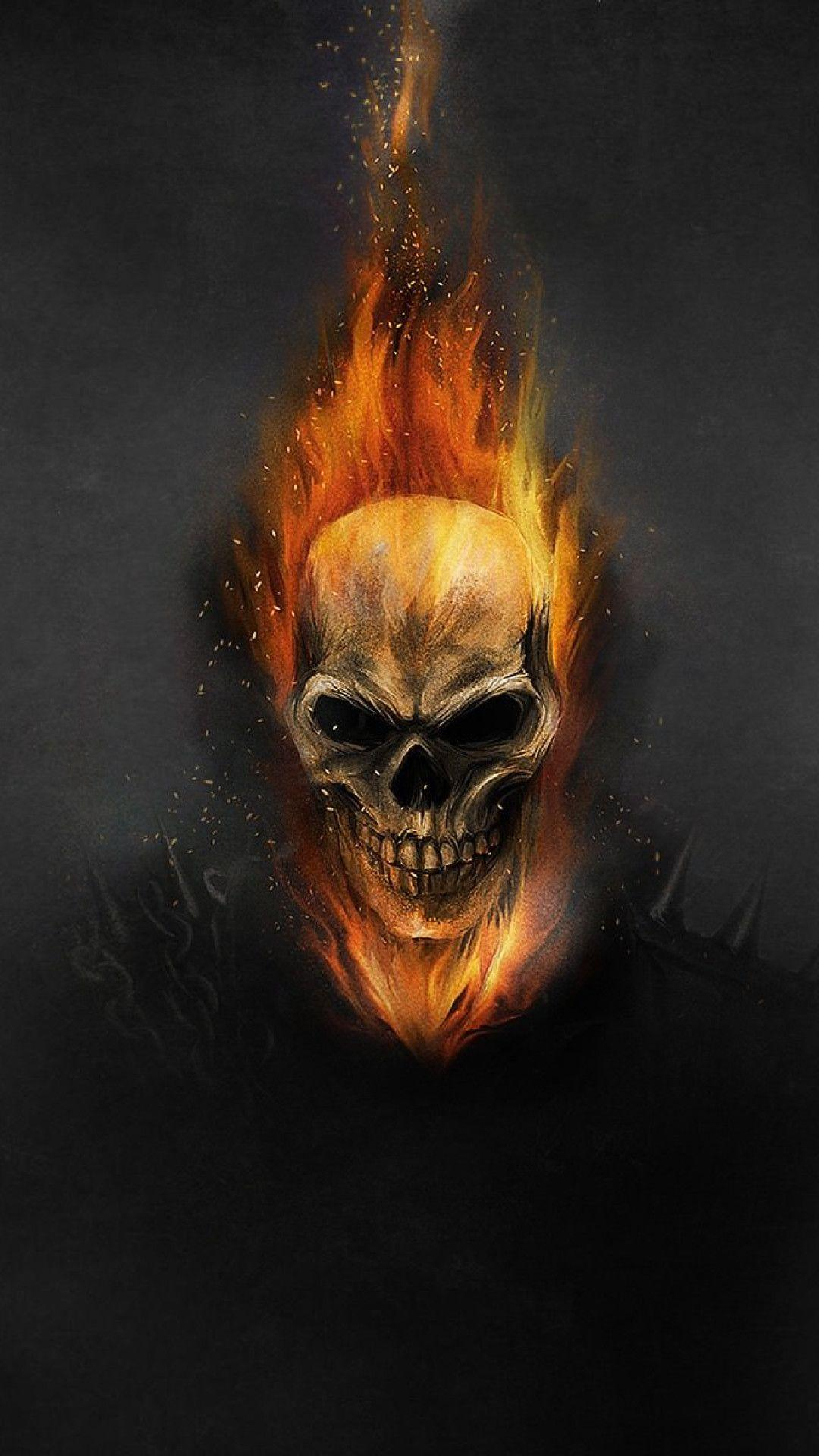 Ghost Rider, Skeleton Wallpapers iPhone 6 Plus Resolution