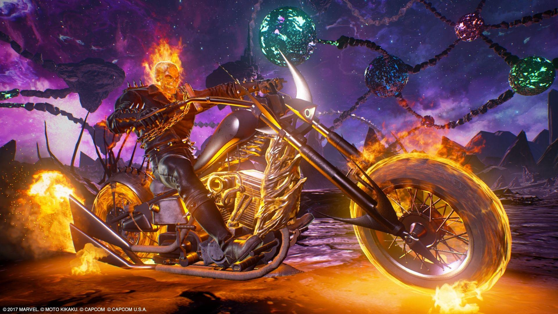Ghost Rider Bike Wallpapers Hd Wallpaper Cave