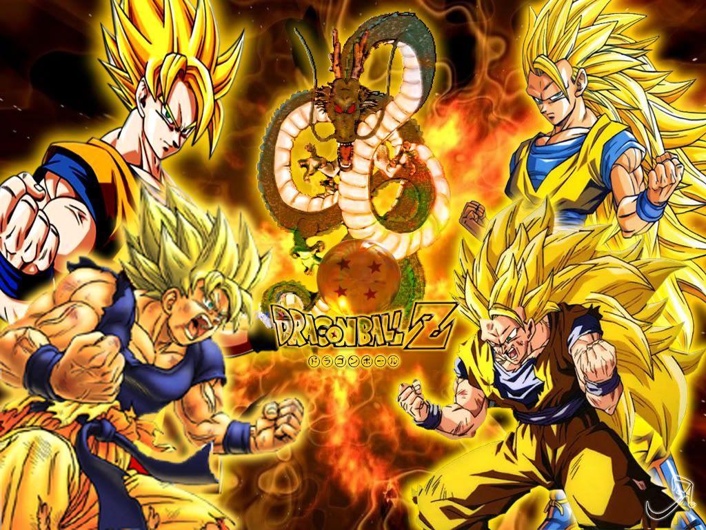 Dragon Ball Z Wallpapers Goku Super Saiyan Wallpaper Cave