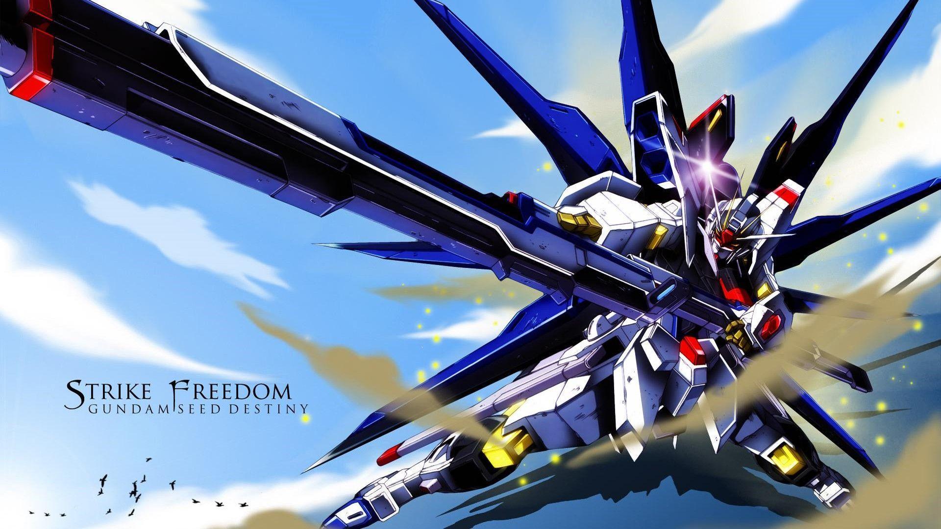 Gundam Strike Freedom Wallpapers Hd Wallpaper Cave