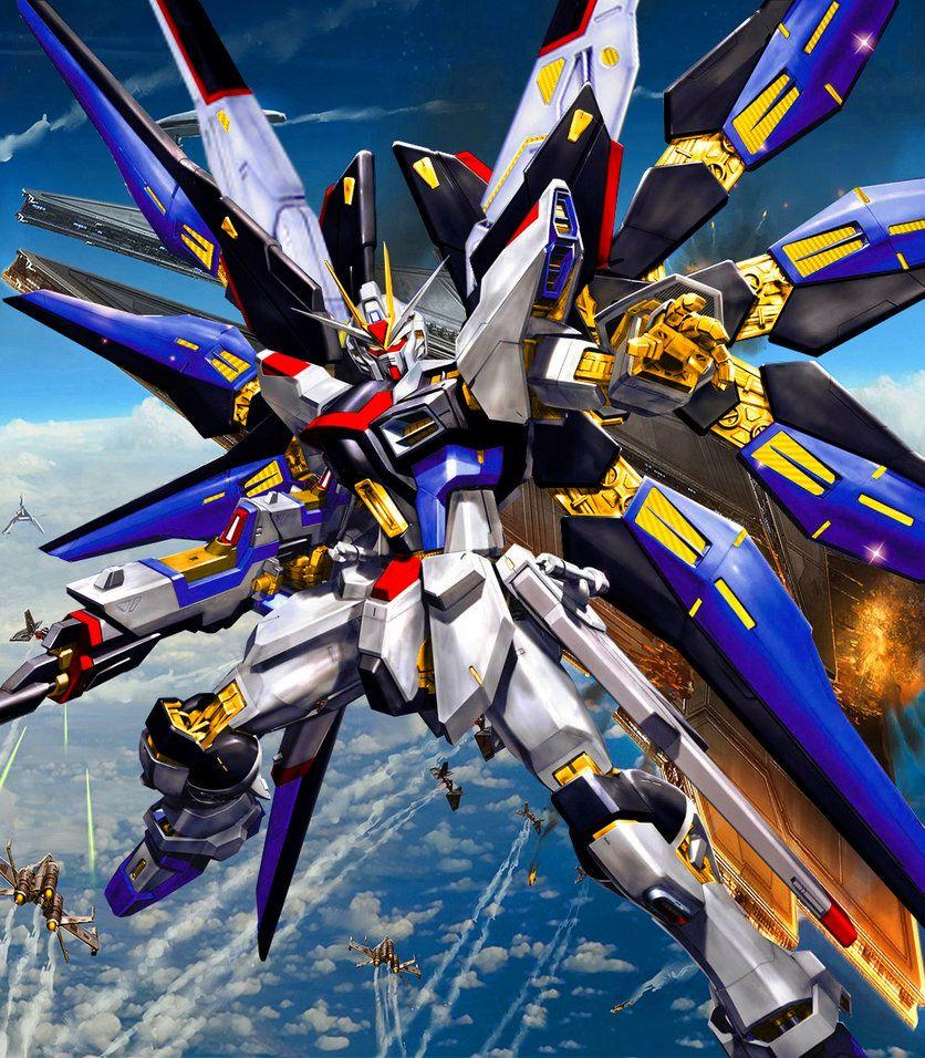 Gundam Strike Freedom Wallpapers Hd Wallpaper Cave