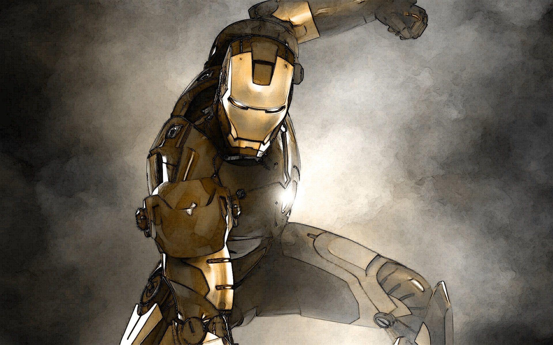 Iron Man 3D Wallpapers - Wallpaper Cave