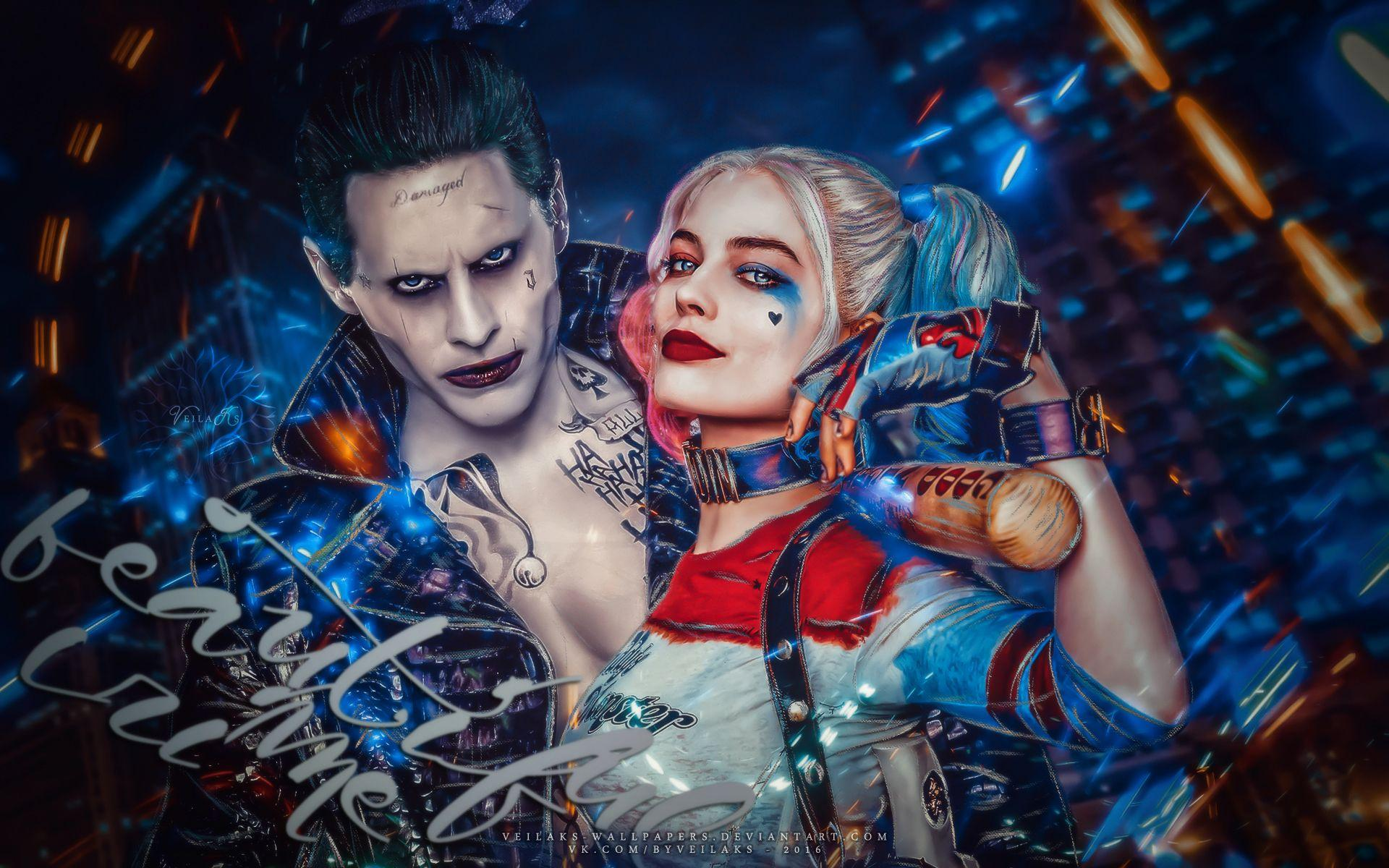 Harley Quinn And Joker Hd Wallpapers Wallpaper Cave
