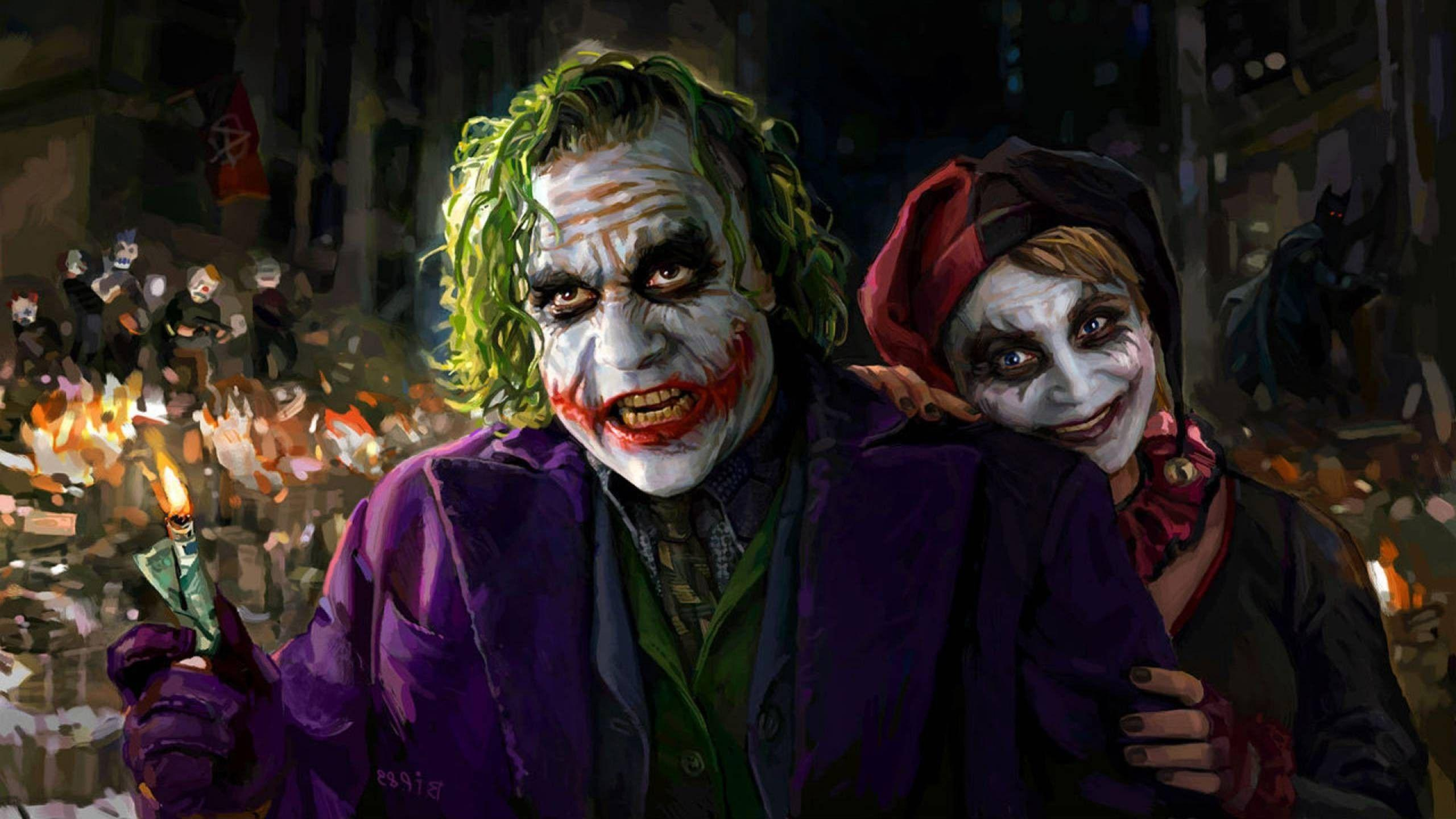 Wallpapers : Joker, movies, Harley Quinn, Carnival, costume
