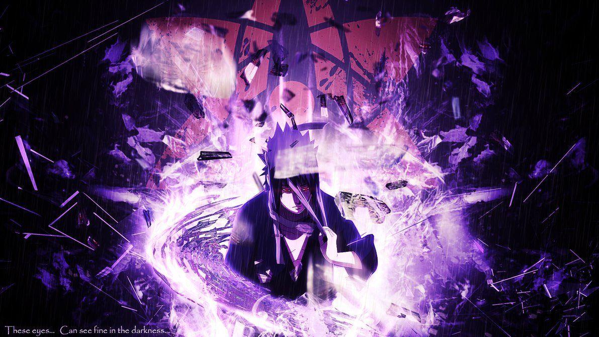 Sasuke Eternal Mangekyou Sharingan Susanoo Wallpapers