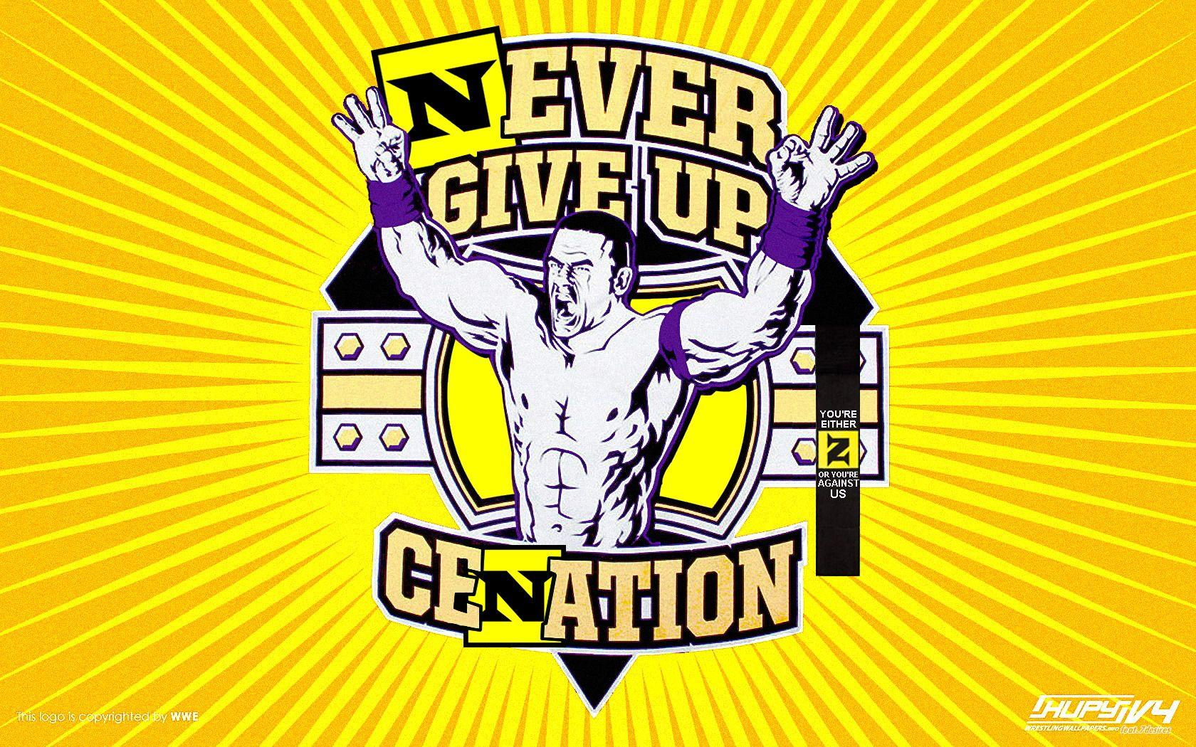 john cena never give up wallpapers green wallpaper cave