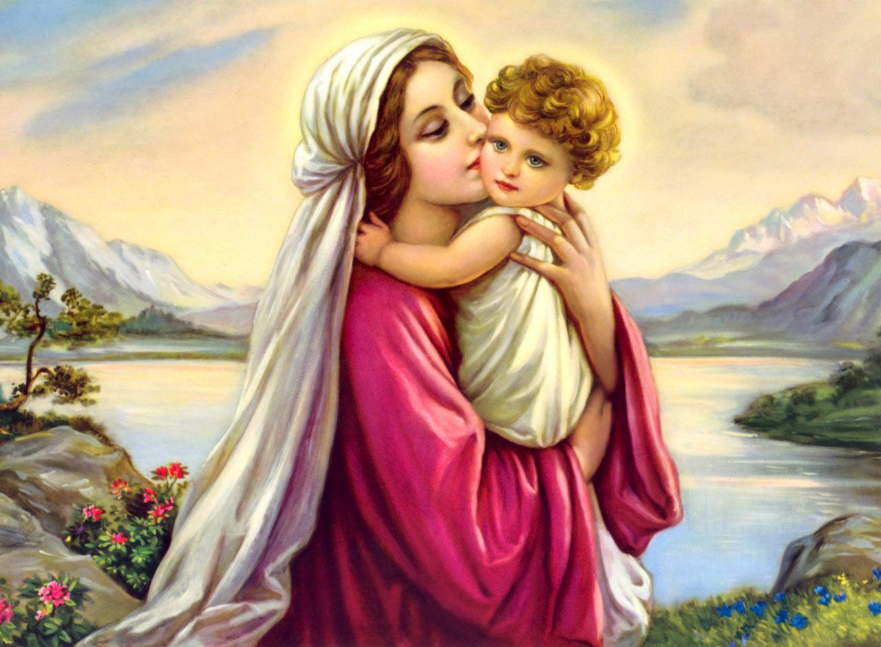Hd Mother Mary Wallpapers