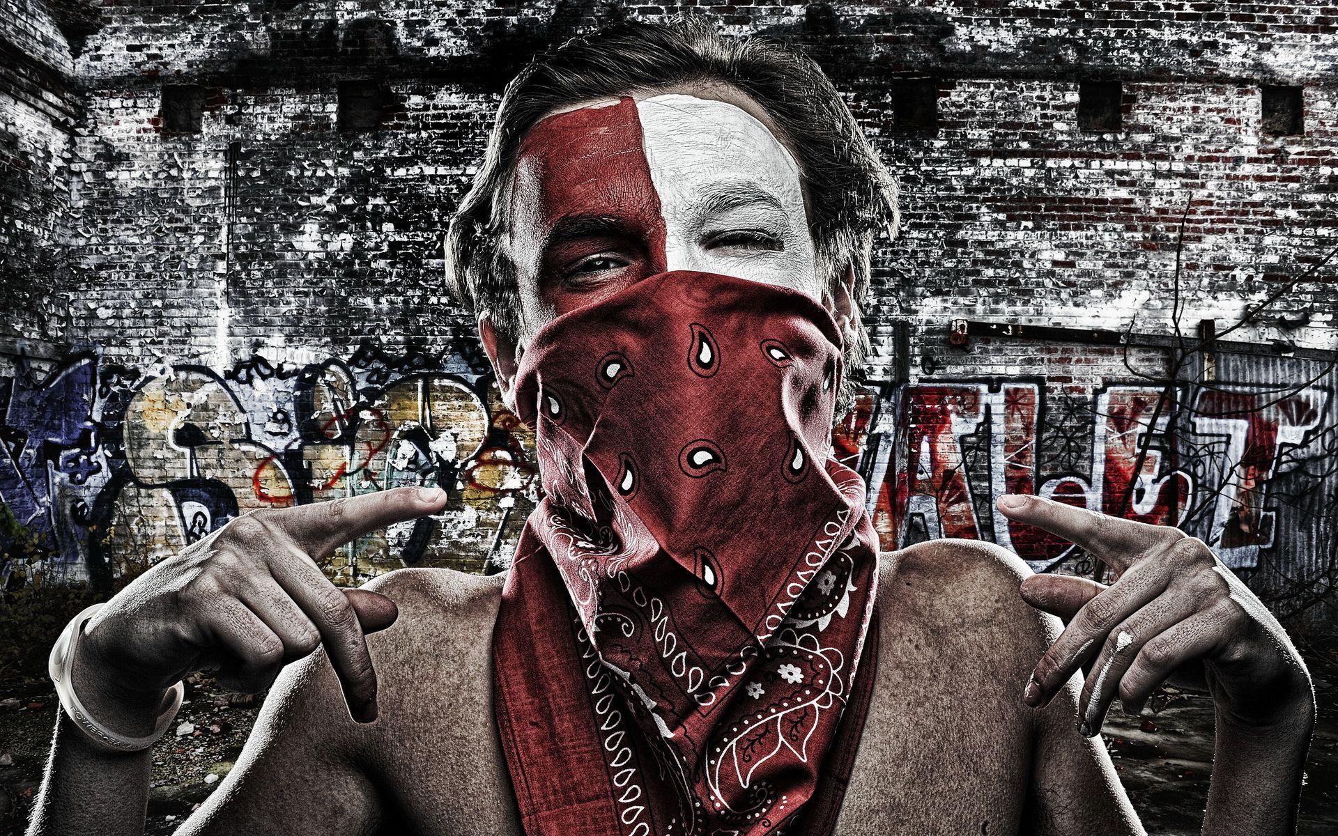 Gangster Mask Graffiti Wallpapers Wallpaper Cave
