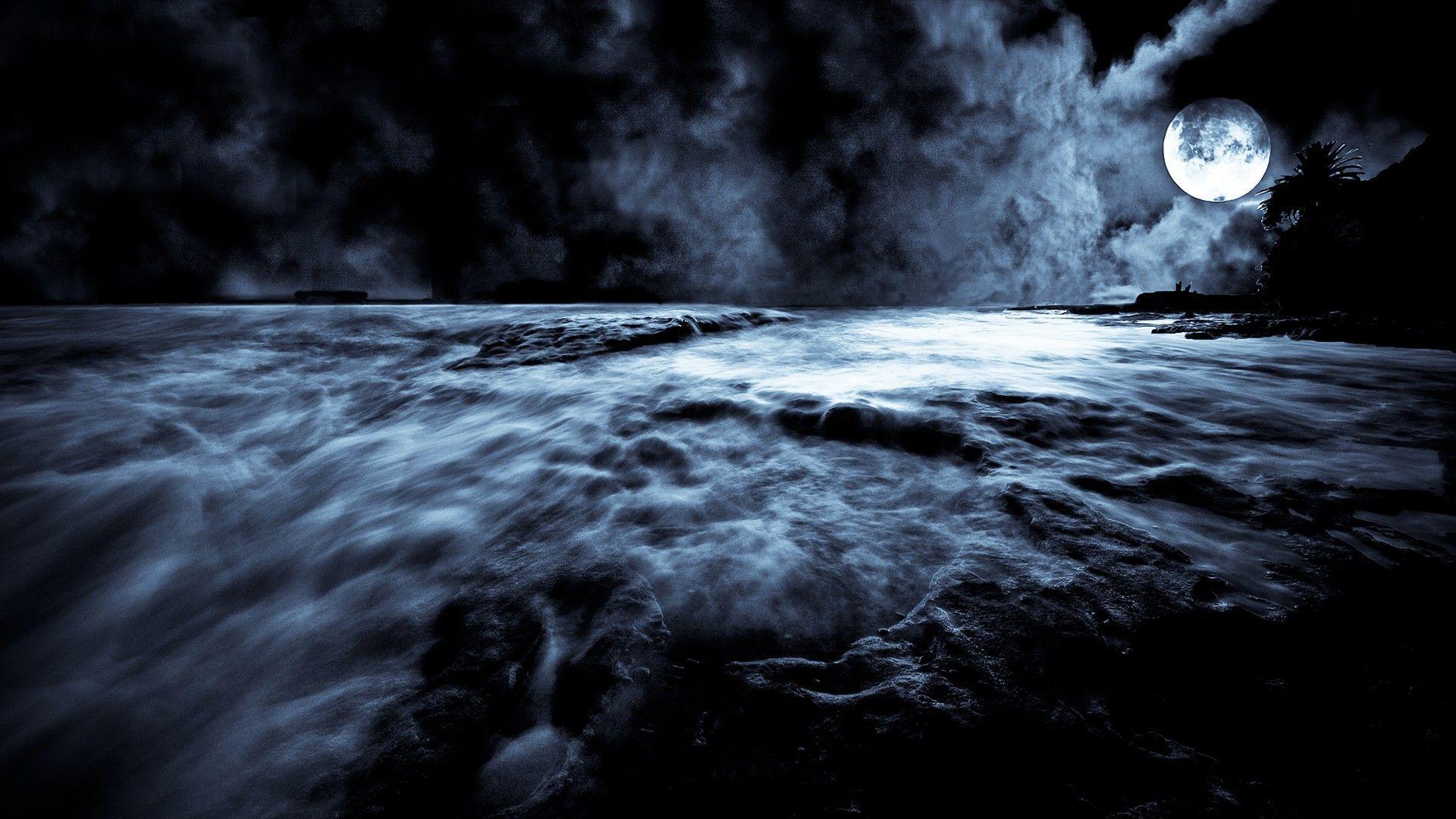 Black Moon Wallpapers Hd Wallpaper Cave