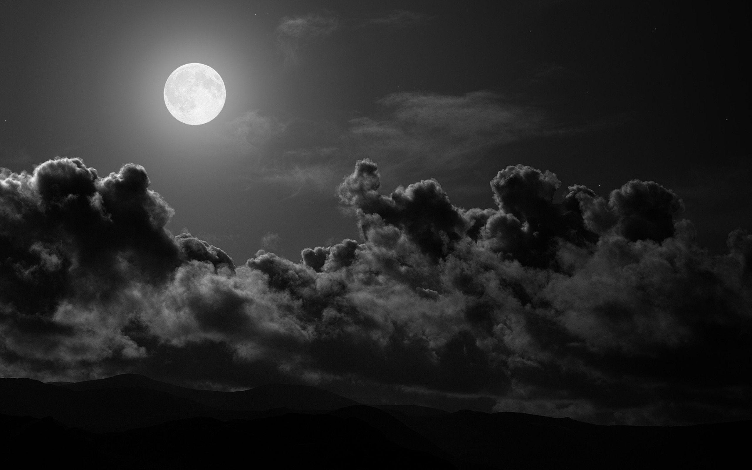 Dark Moon Wallpapers Full HD for HD Wallpapers Desktop 2560x1600 px