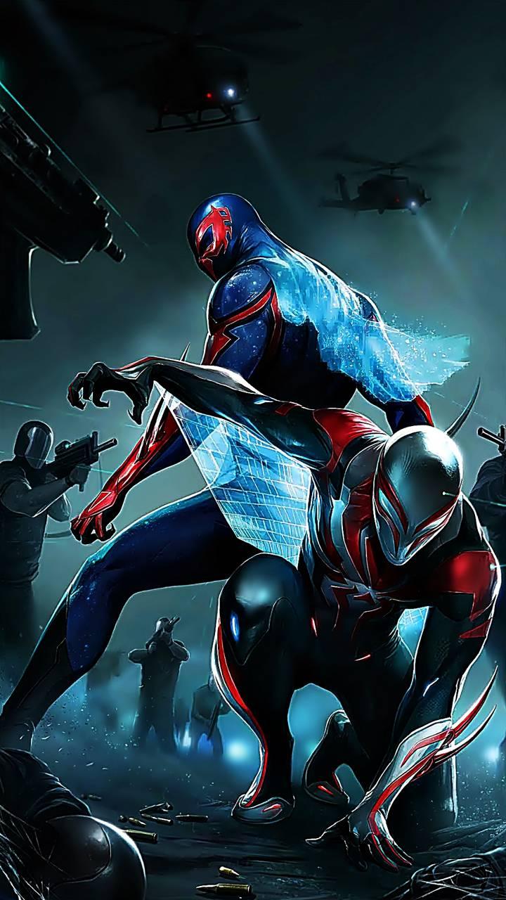 Spiderman 2099 Wallpapers - Wallpaper Cave