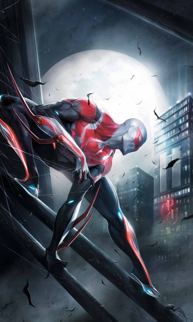Spider Man 2099 Wallpapers Hd Wallpaper Cave