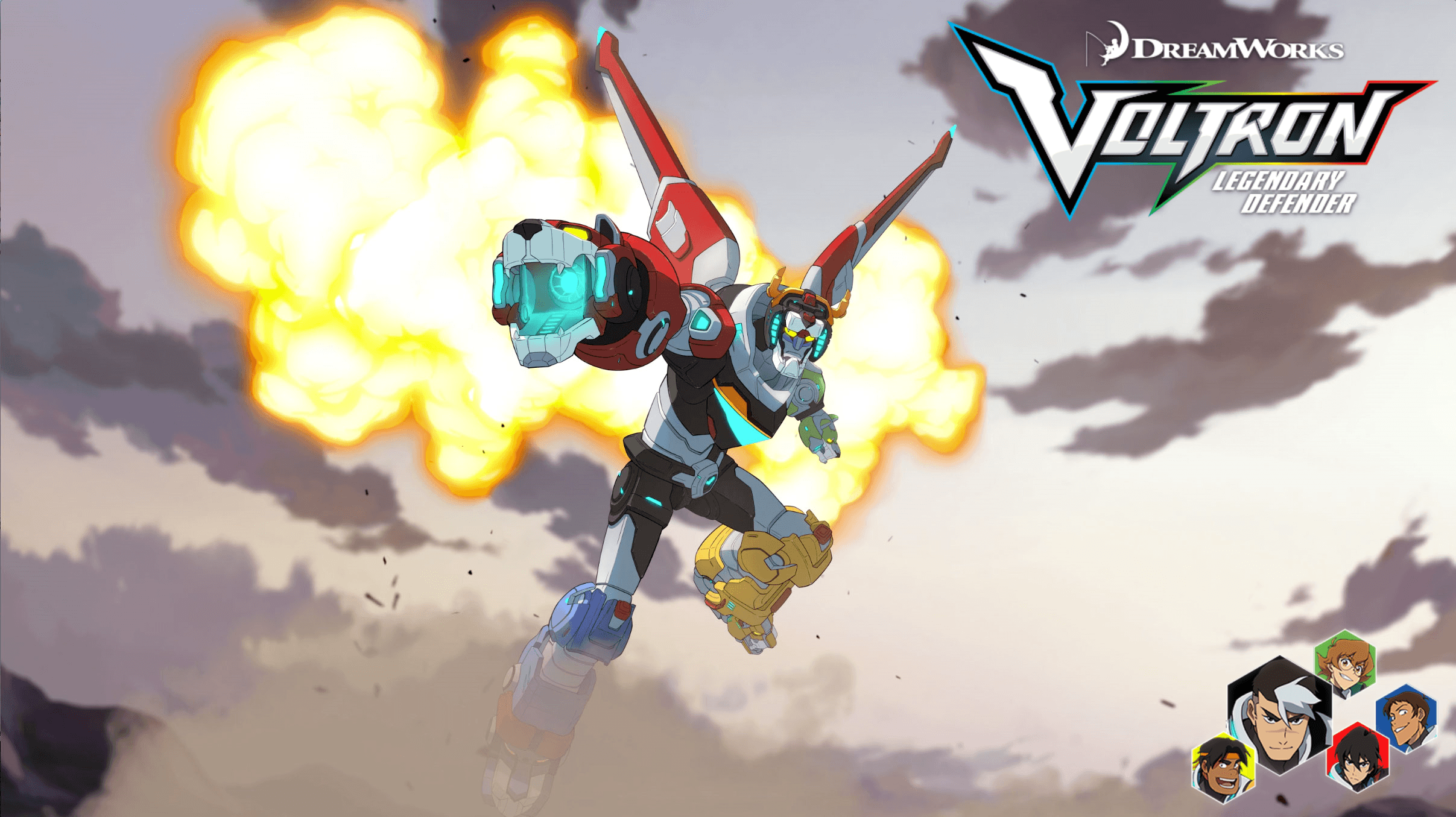 I made a wallpaper for Legendary Defender! : Voltron