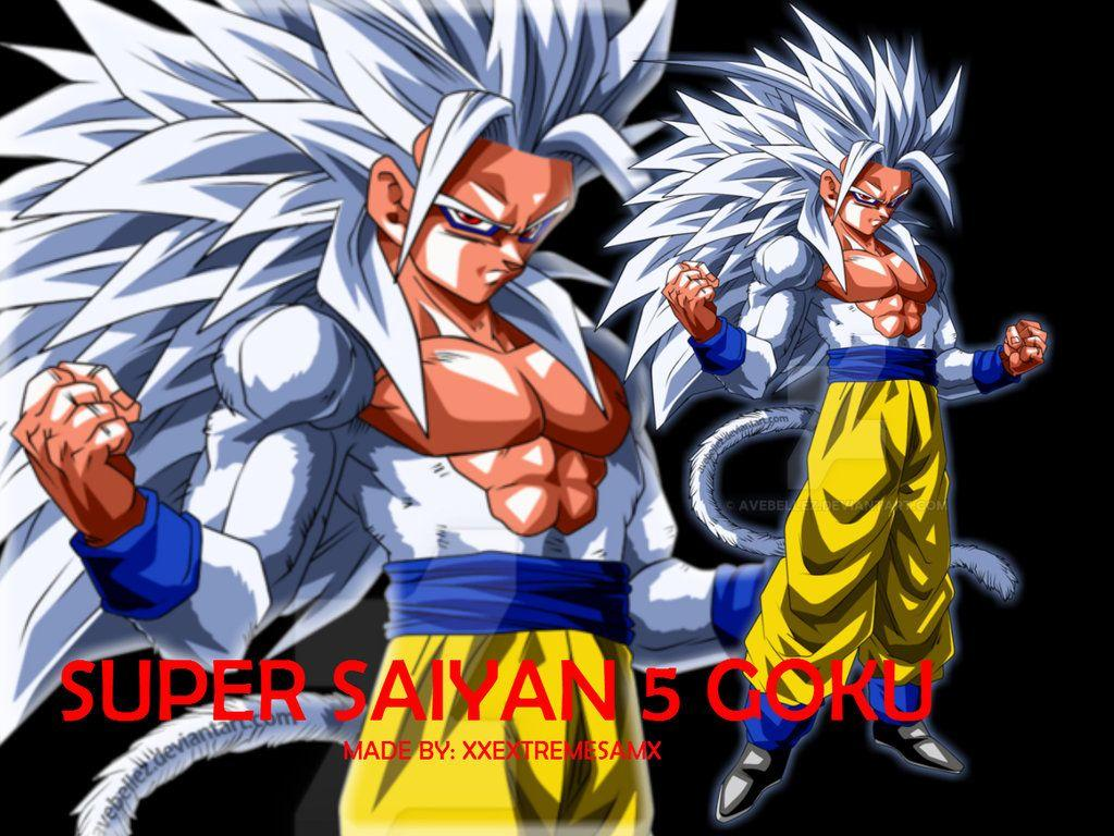 Goku Super Saiyan 5 Wallpapers Wallpaper Cave