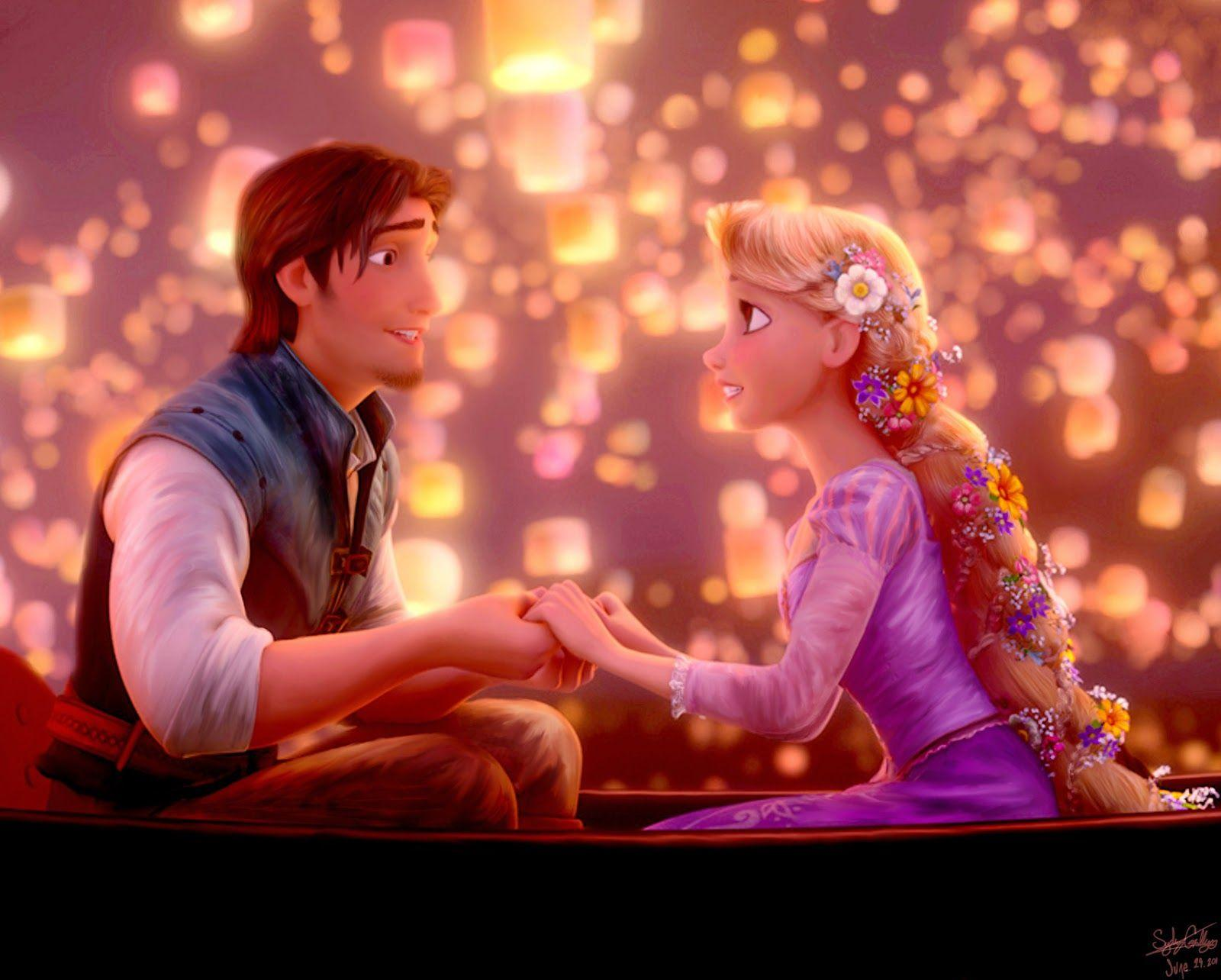 Tangled Lanterns Wallpaper 1600x1000 45