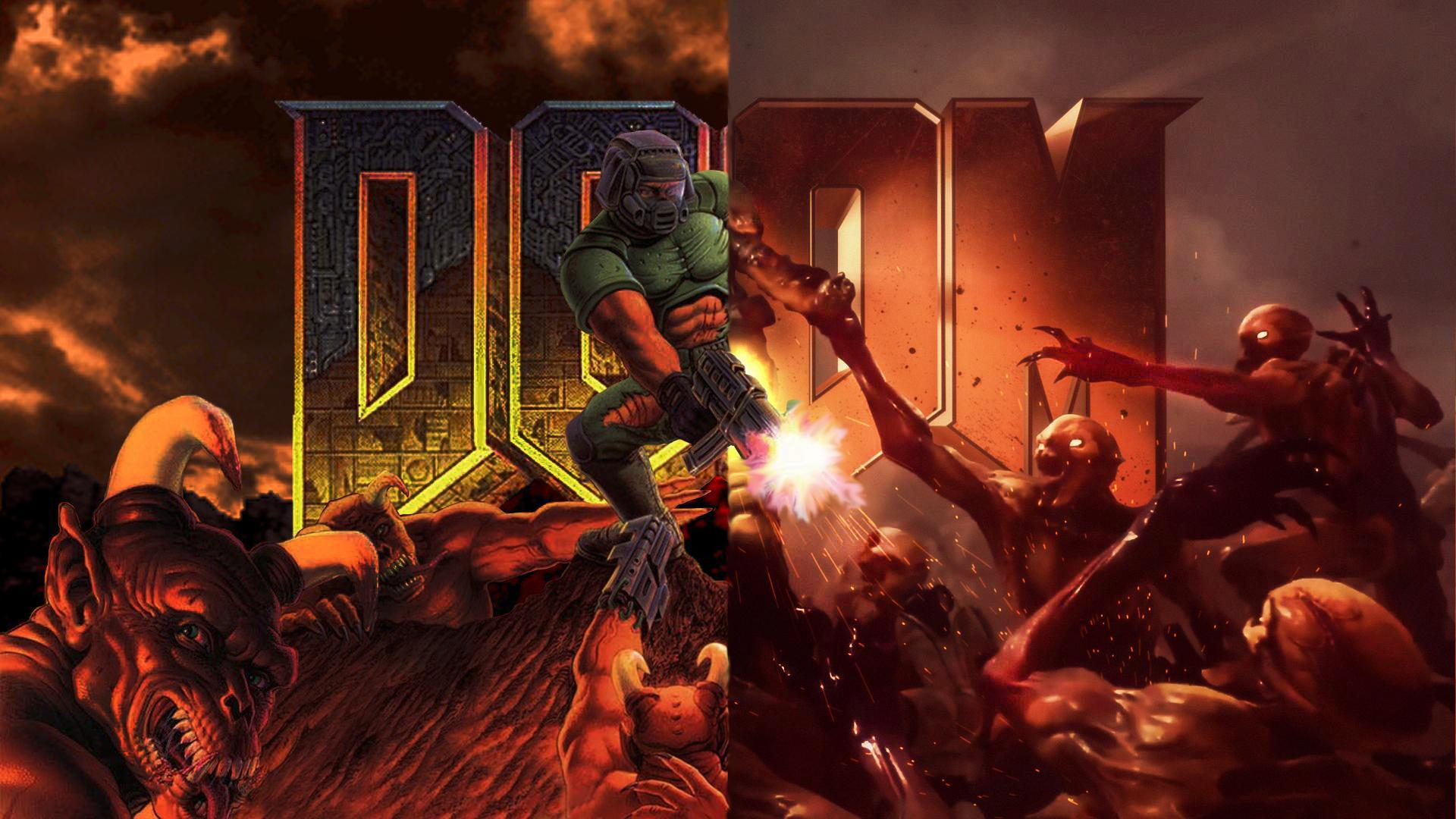 doom eternal wallpaper 1440p