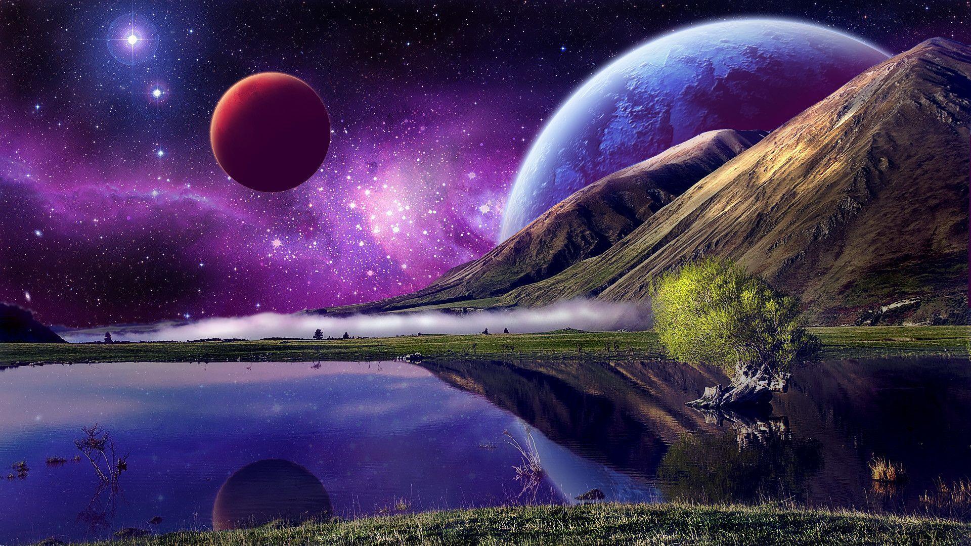 Deep Space Pulsar Wallpaper