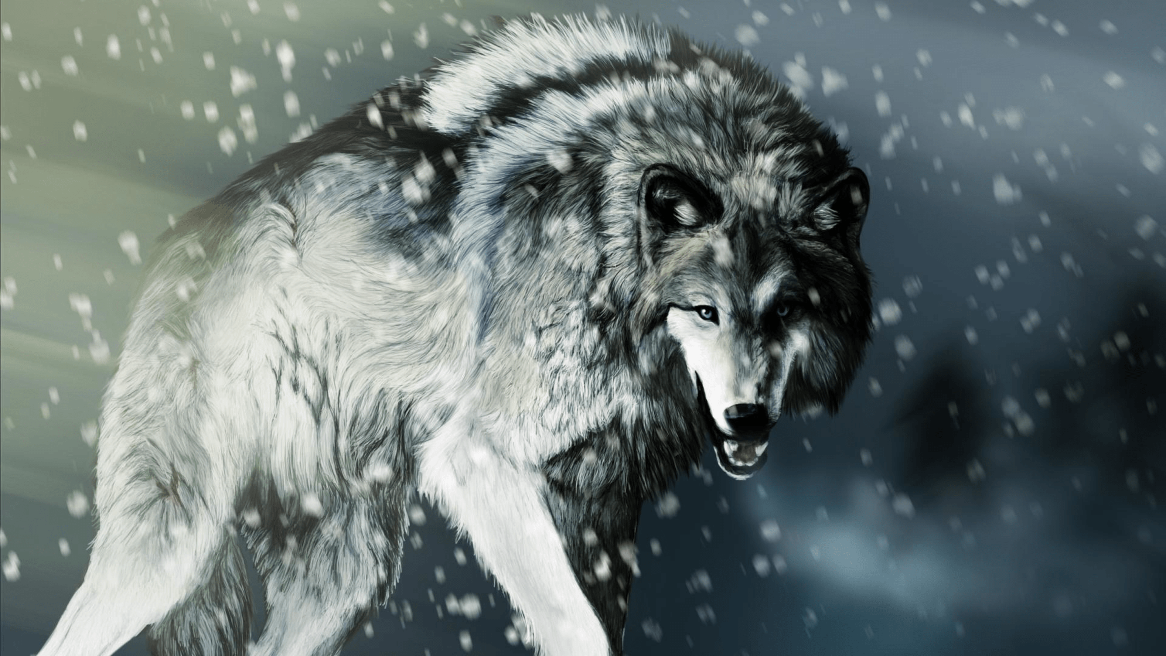Alpha Wolf Wallpapers Wallpaper Cave
