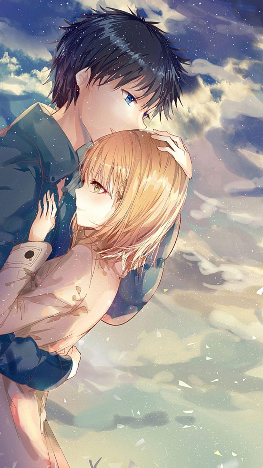 Download 95 Wallpaper Anime Couple Hd Android HD Paling Keren