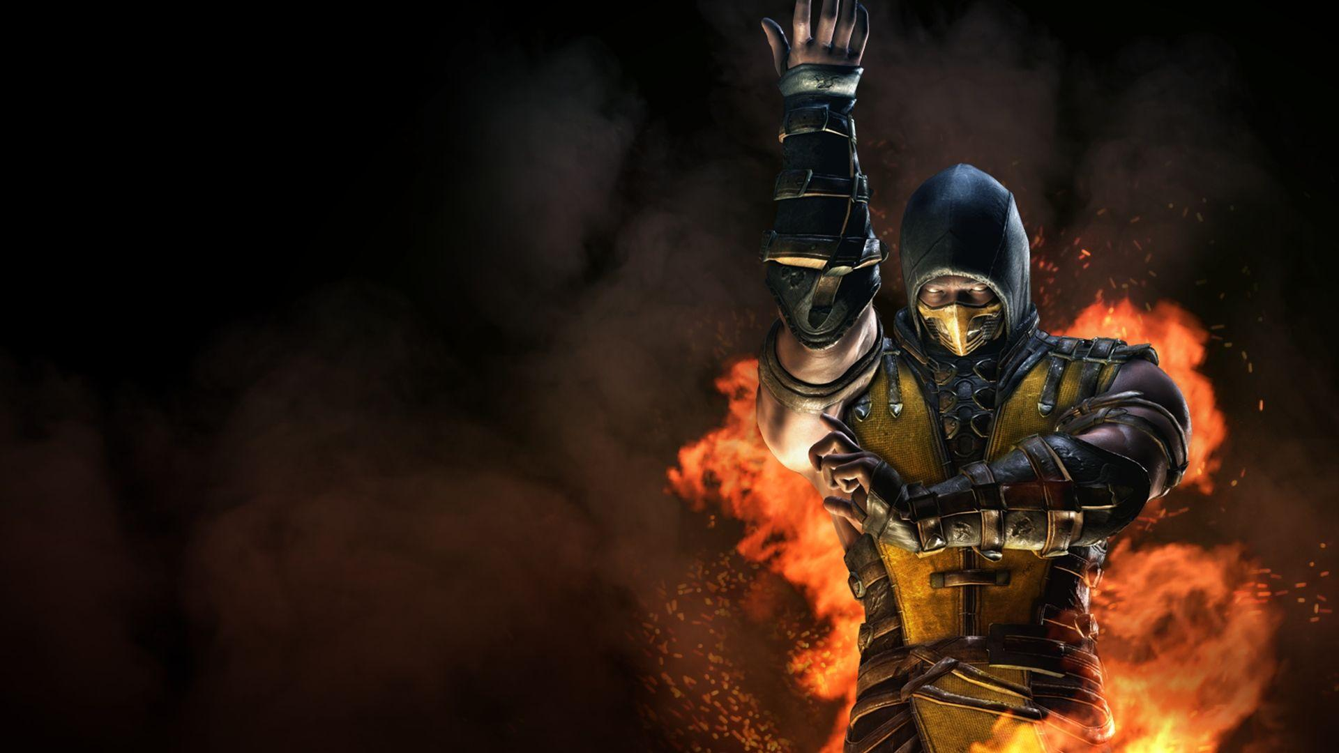 Mortal Kombat X Inferno Scorpion Wallpapers
