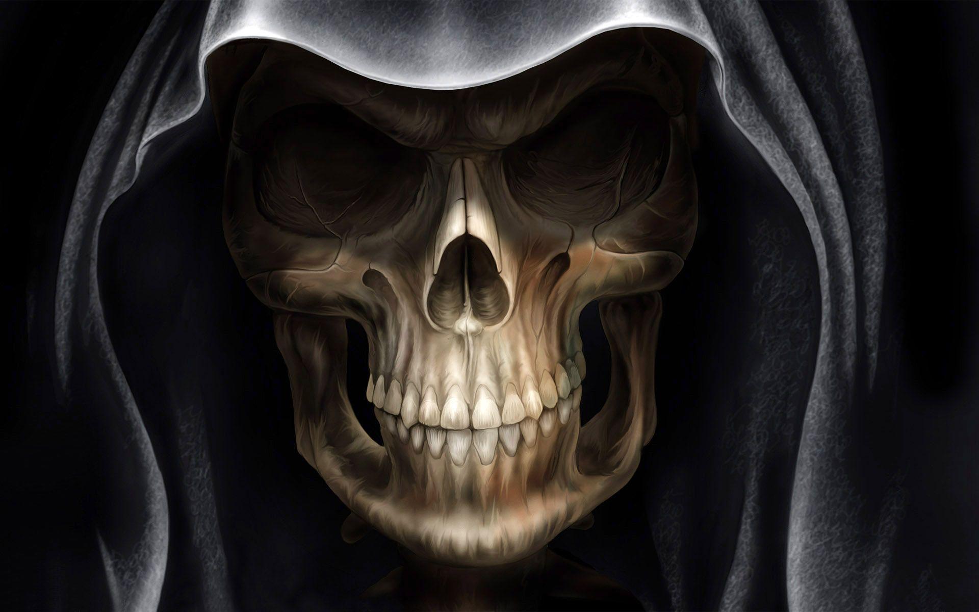 Demon Alien Devil Skull Wallpapers