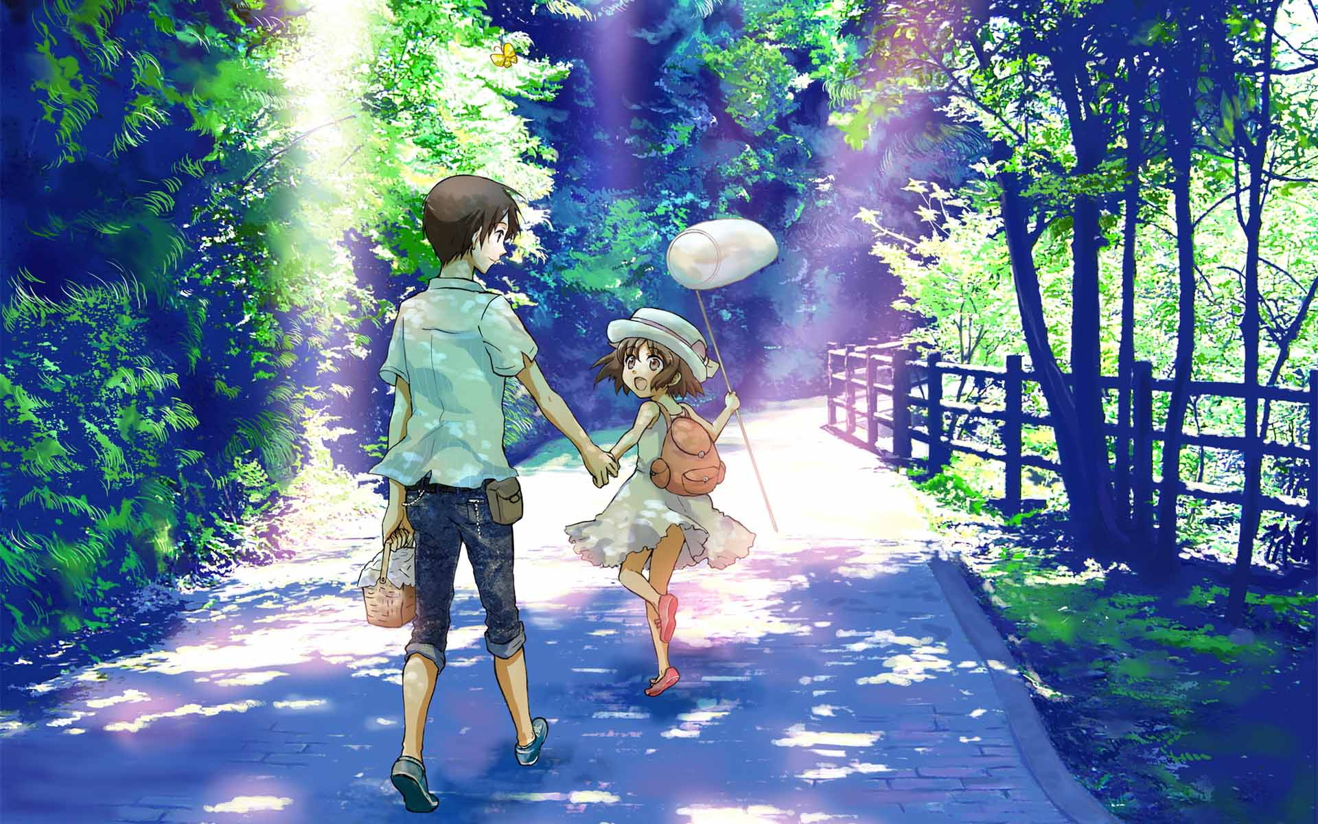Anime Girl And Boy Wallpapers Wallpaper Cave