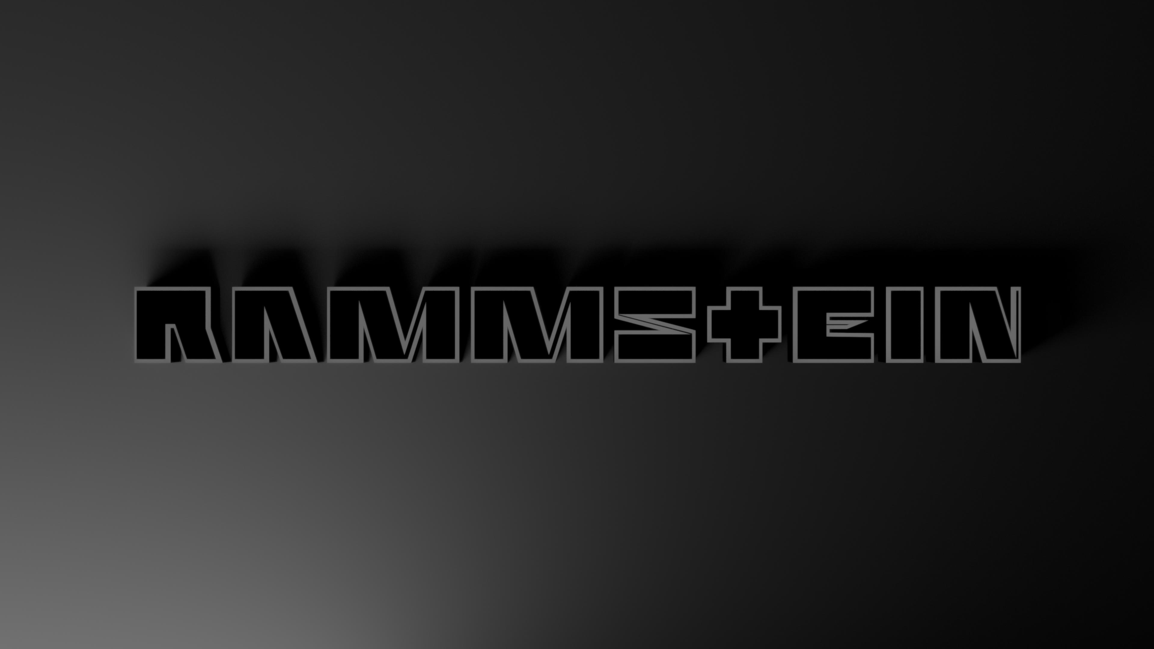 Rammstein Logo Wallpapers Hd Wallpaper Cave